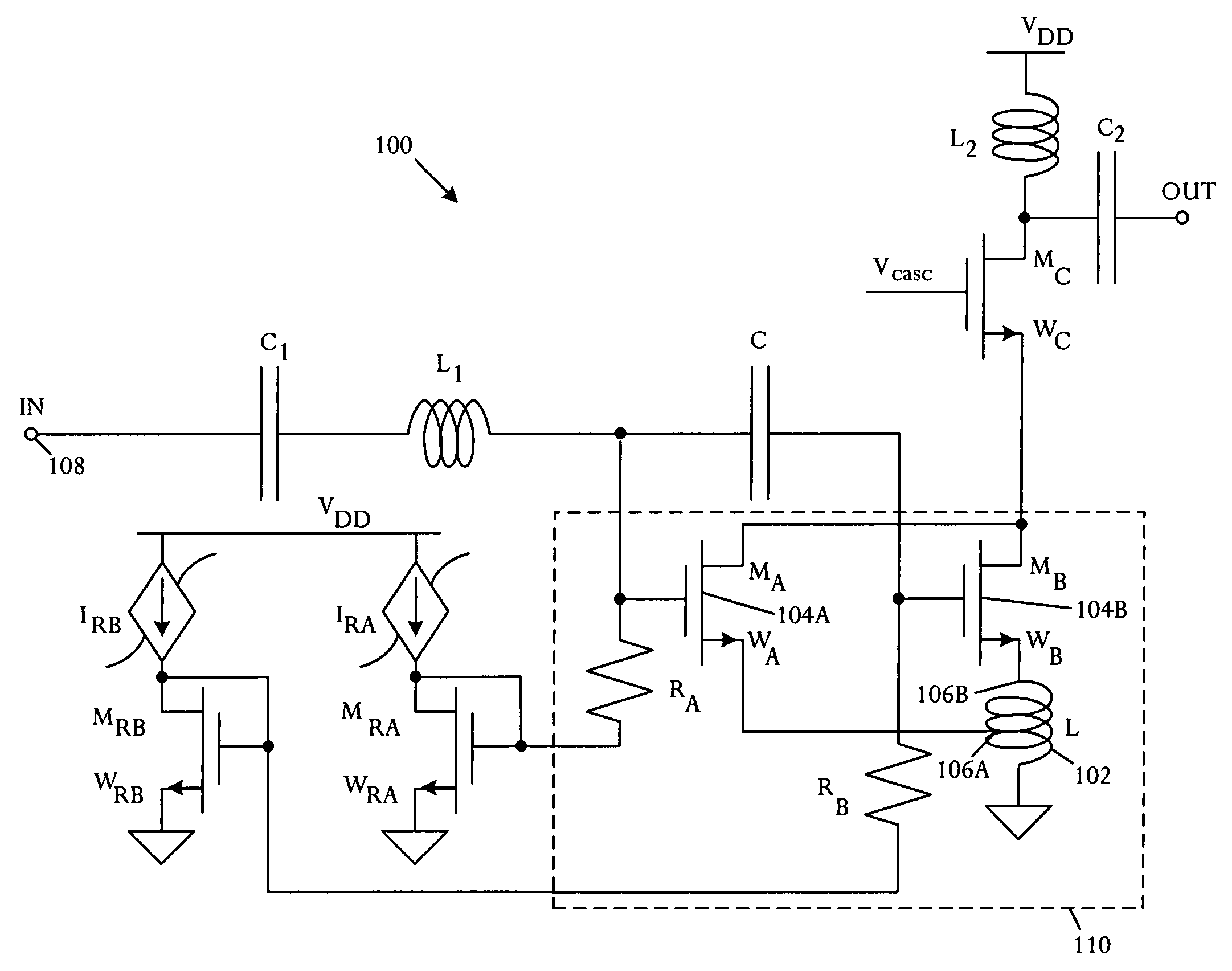 Patent Us7853235 Field Effect Transistor Amplifier With