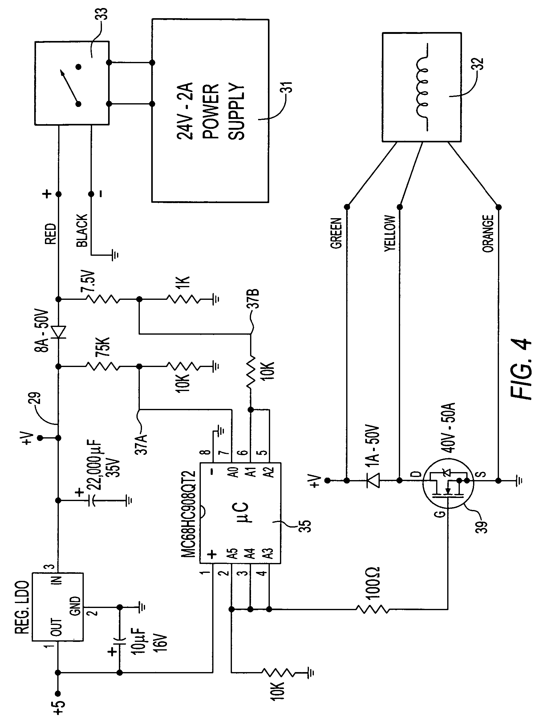 US07862091 20110104 D00005 patent us7862091 electromechanical door solenoid current surge von duprin wiring diagram at pacquiaovsvargaslive.co
