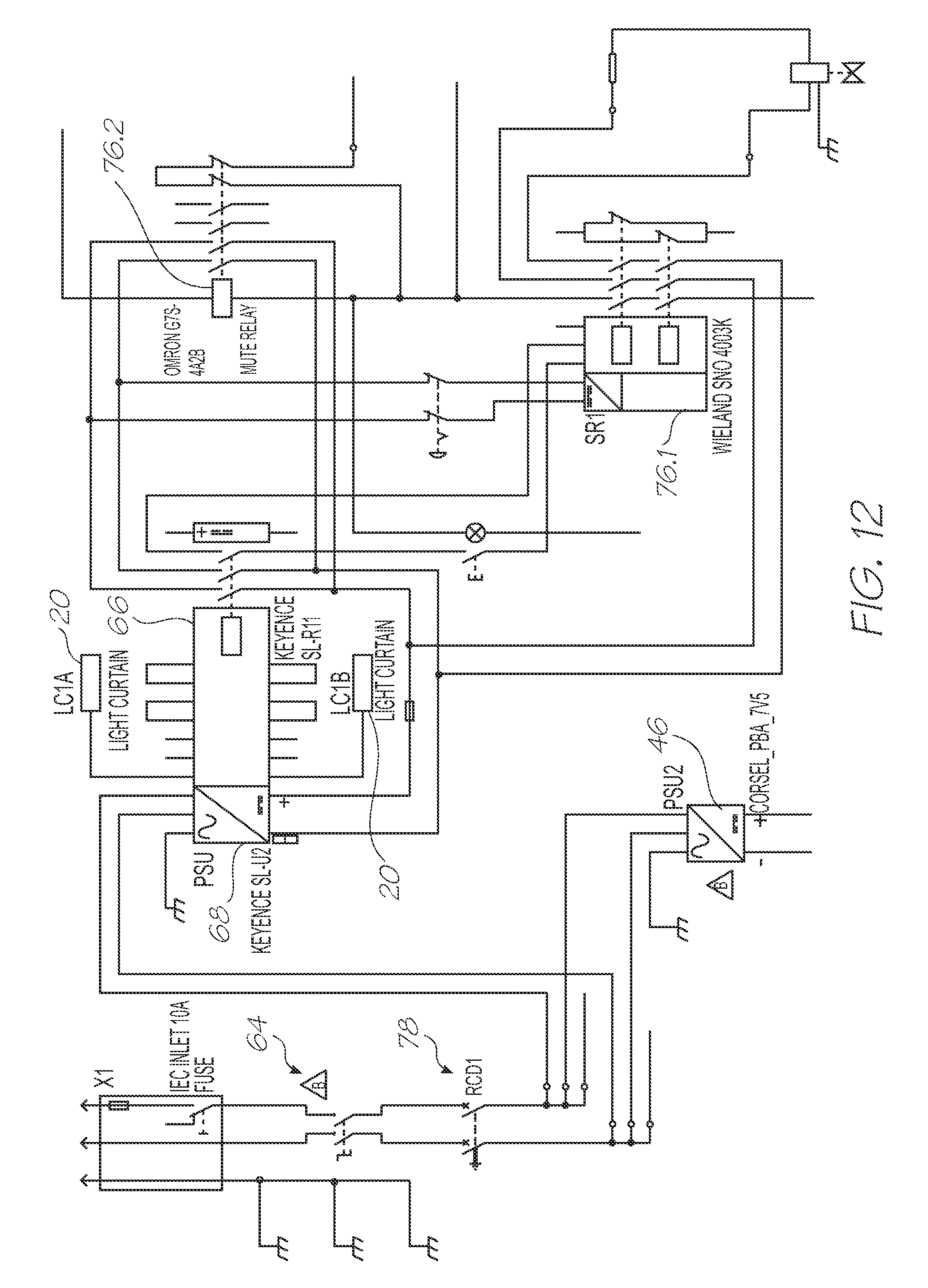 patent us7863890 apparatus for testing integrated circuitry Light Curtain Sensor Safety Relay Wiring Diagram keyence light curtain wiring diagram