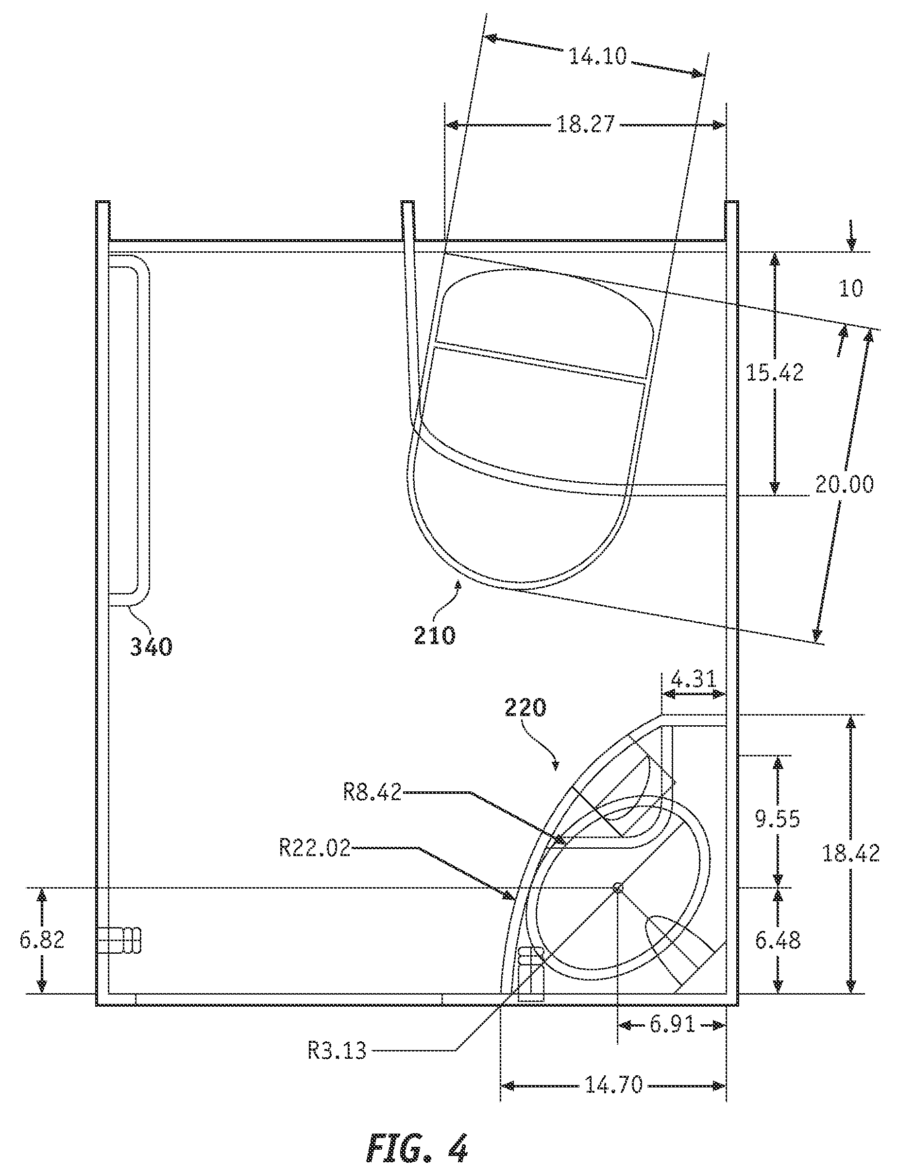 Handicap Bathroom Airplane patent us7866603 - methods and apparatus for an aircraft