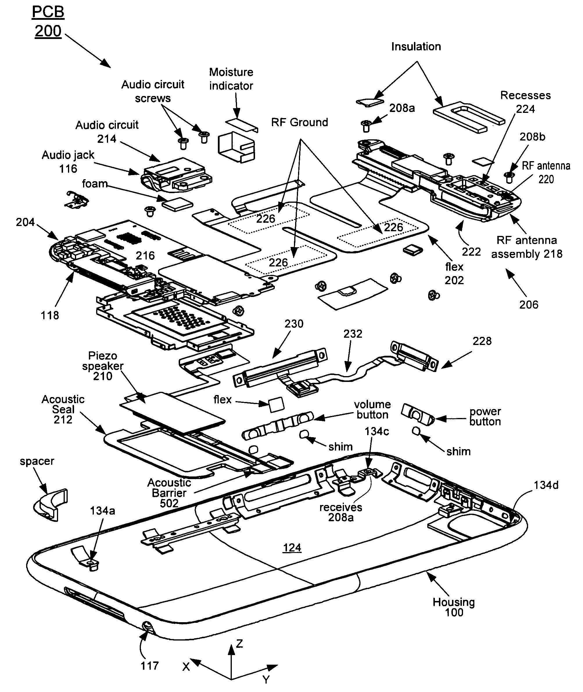 small iphone 5s parts diagram