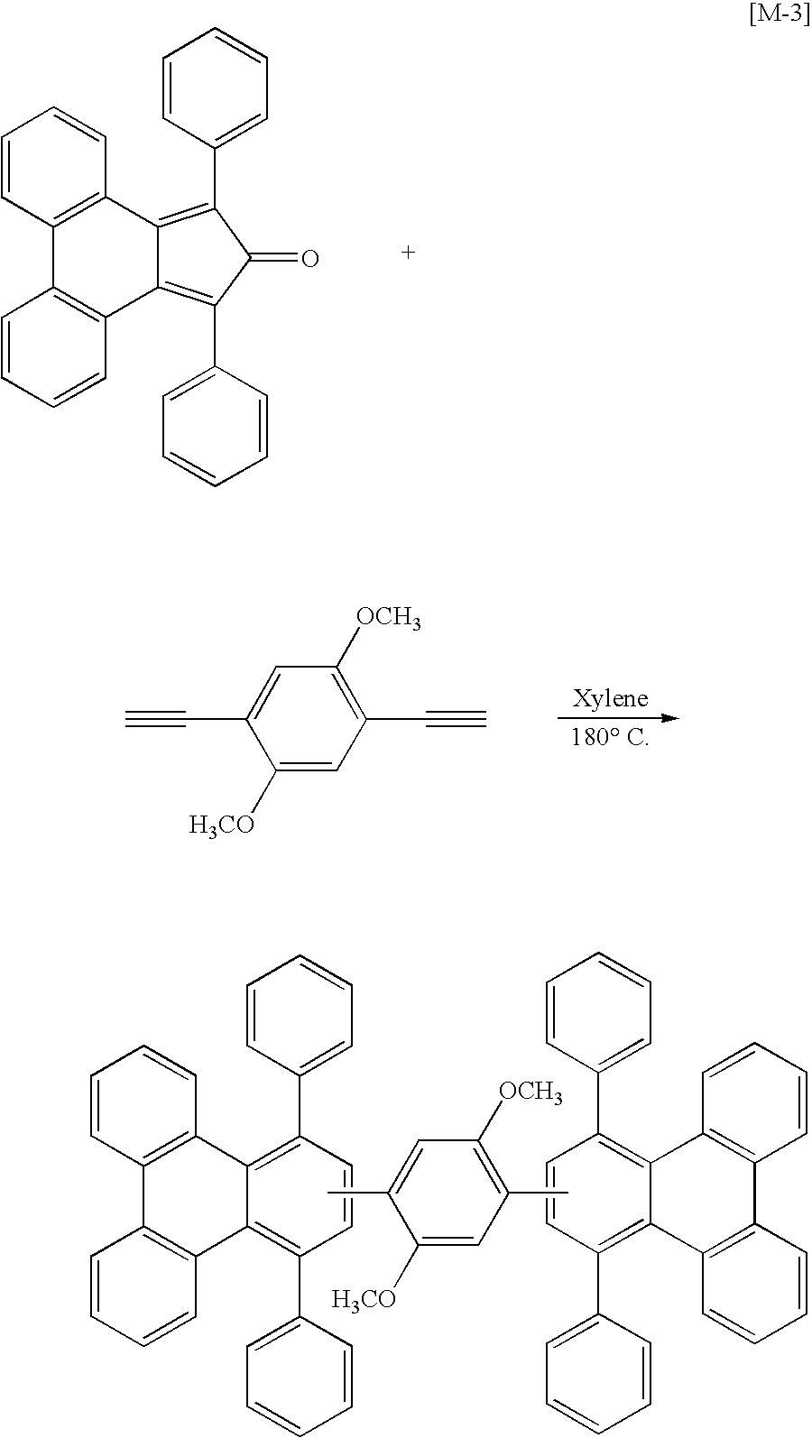 One with 1 4 diethynyl 2 5 dimethoxybenzene synthesis of m 3