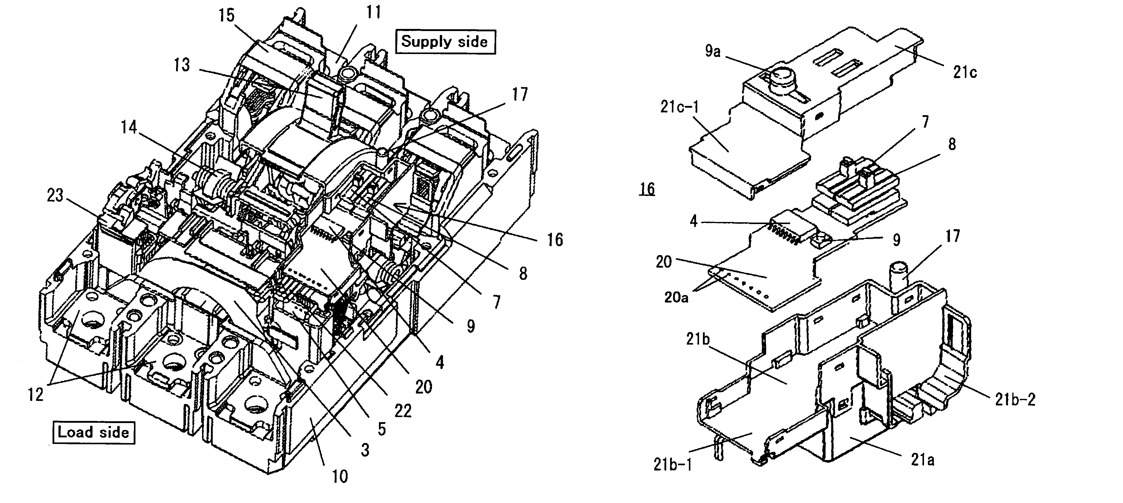 patent us7876181 - earth leakage circuit breaker