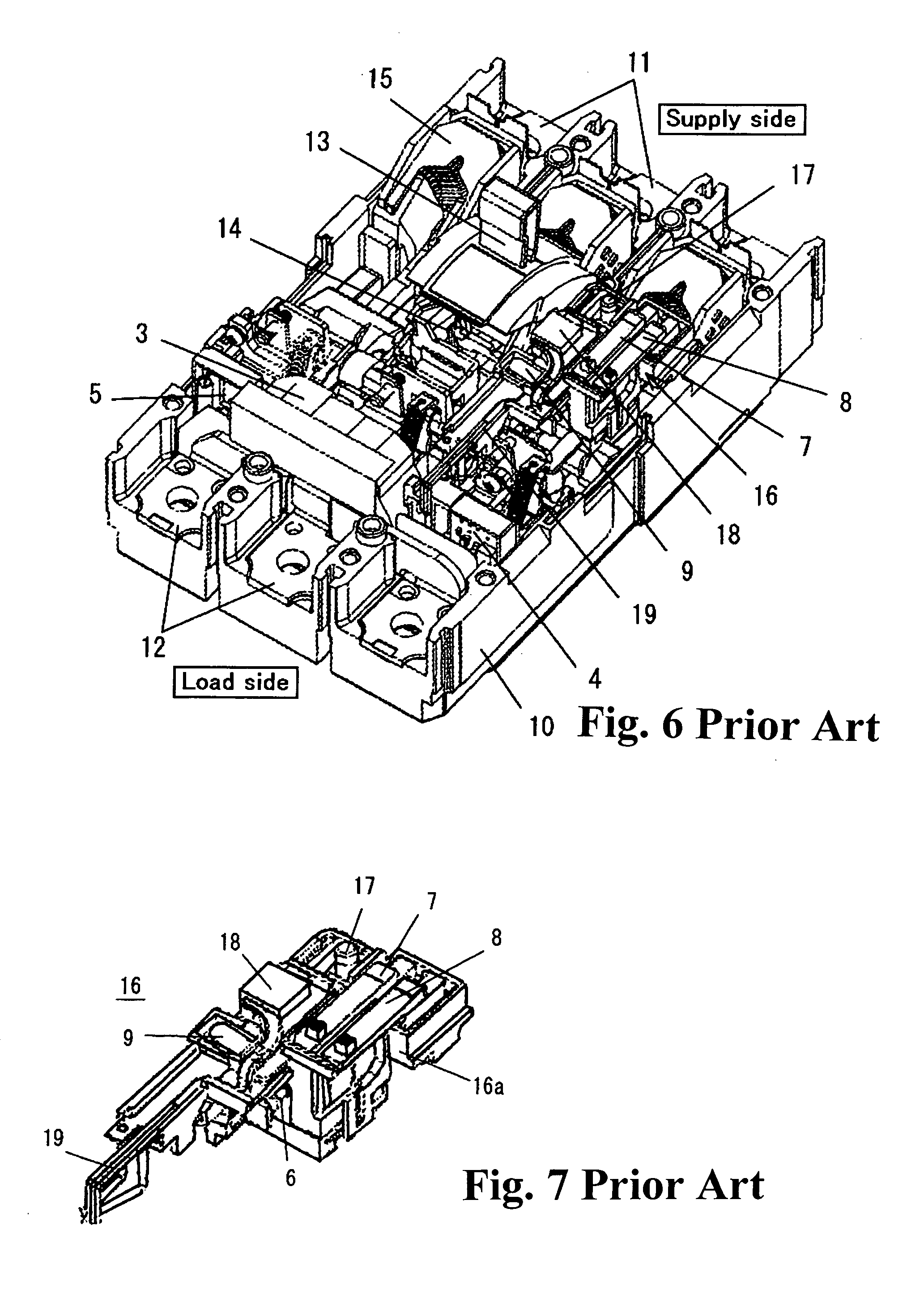 patent us7876181 - earth leakage circuit breaker