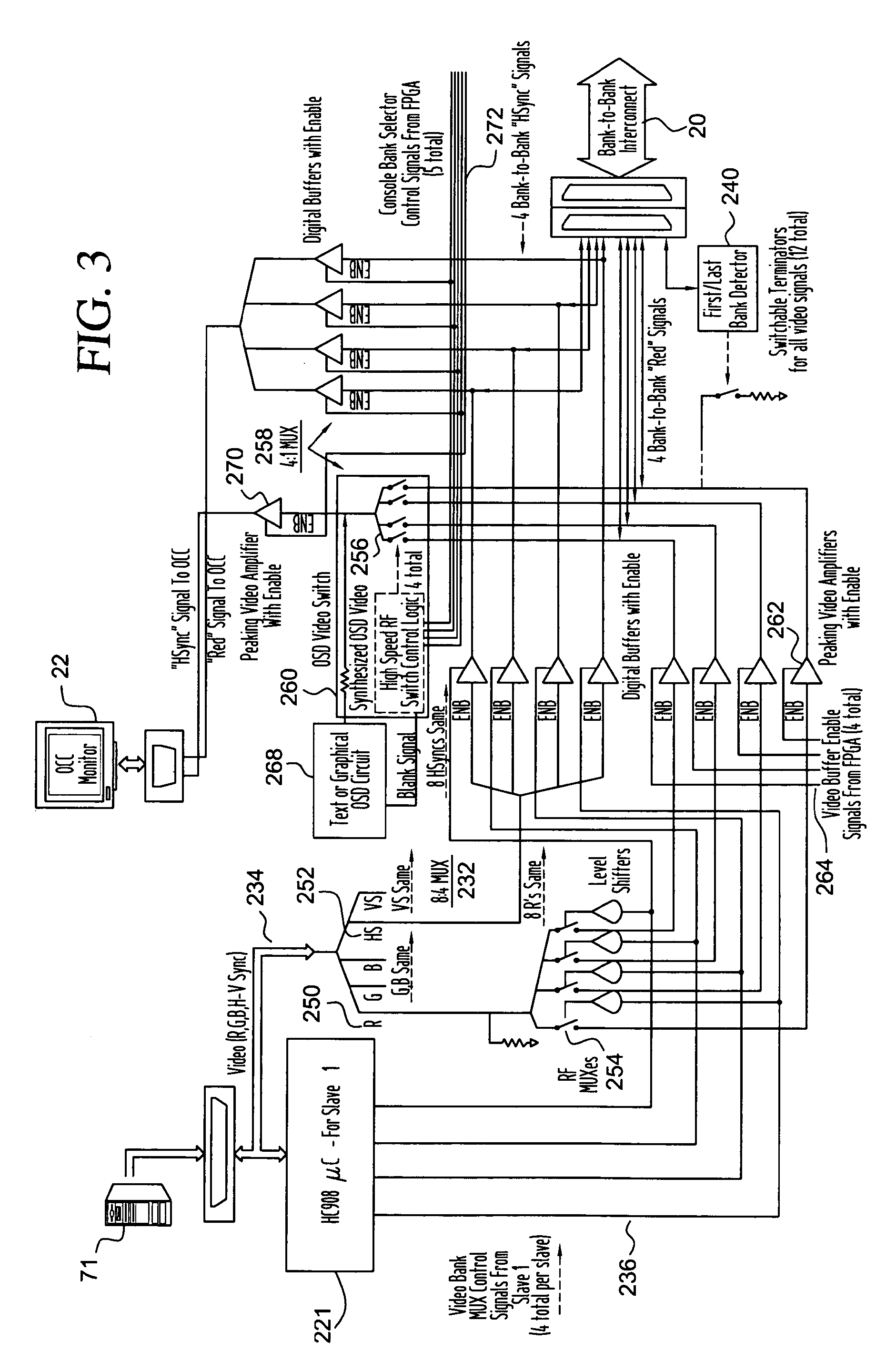 patent us kvm video and osd switch patents patent drawing