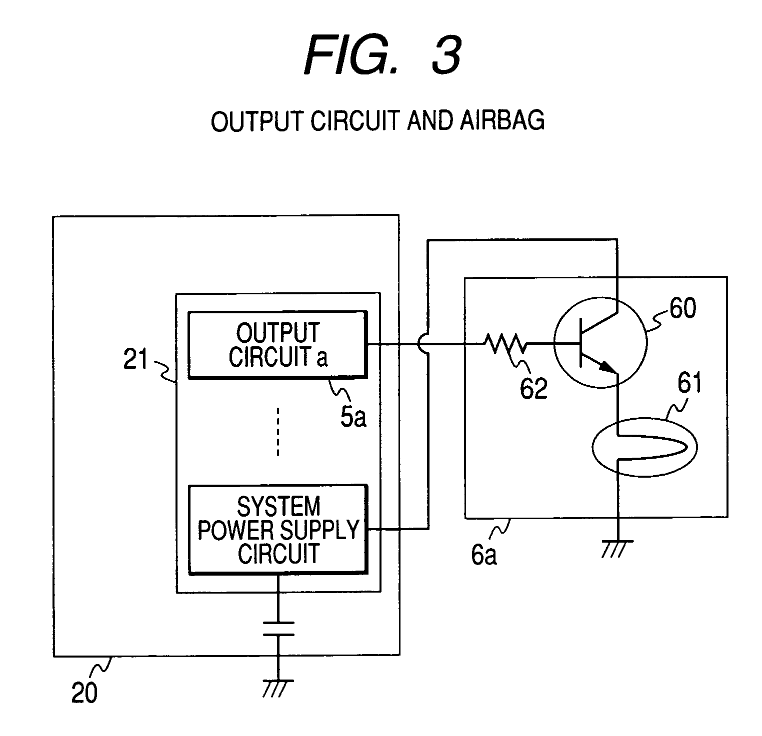 patent us7890232 - airbag system - google patents, Wiring diagram