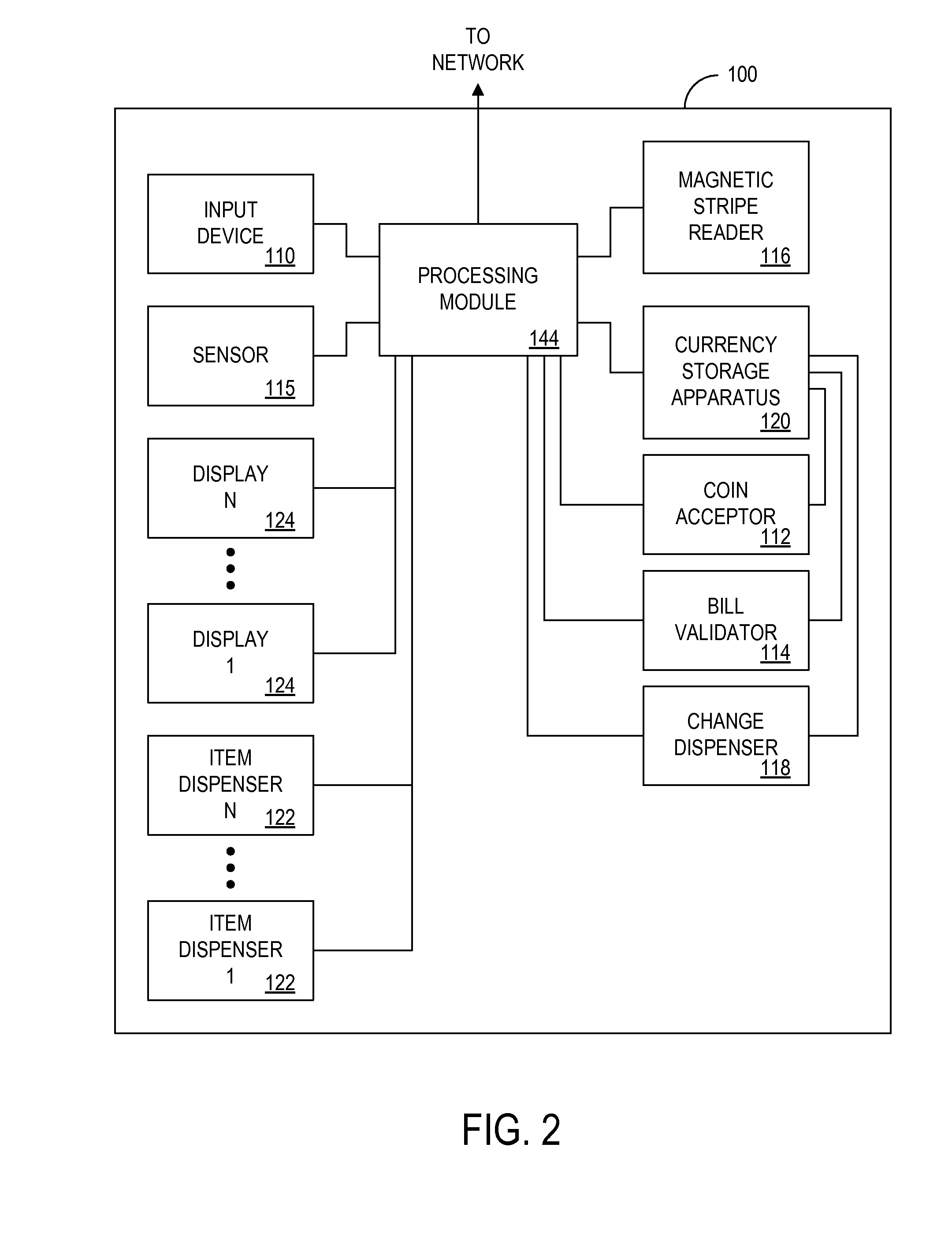 US07894937 20110222 D00002 patent us7894937 method and apparatus for dynamically managing vending machine wiring diagram at reclaimingppi.co