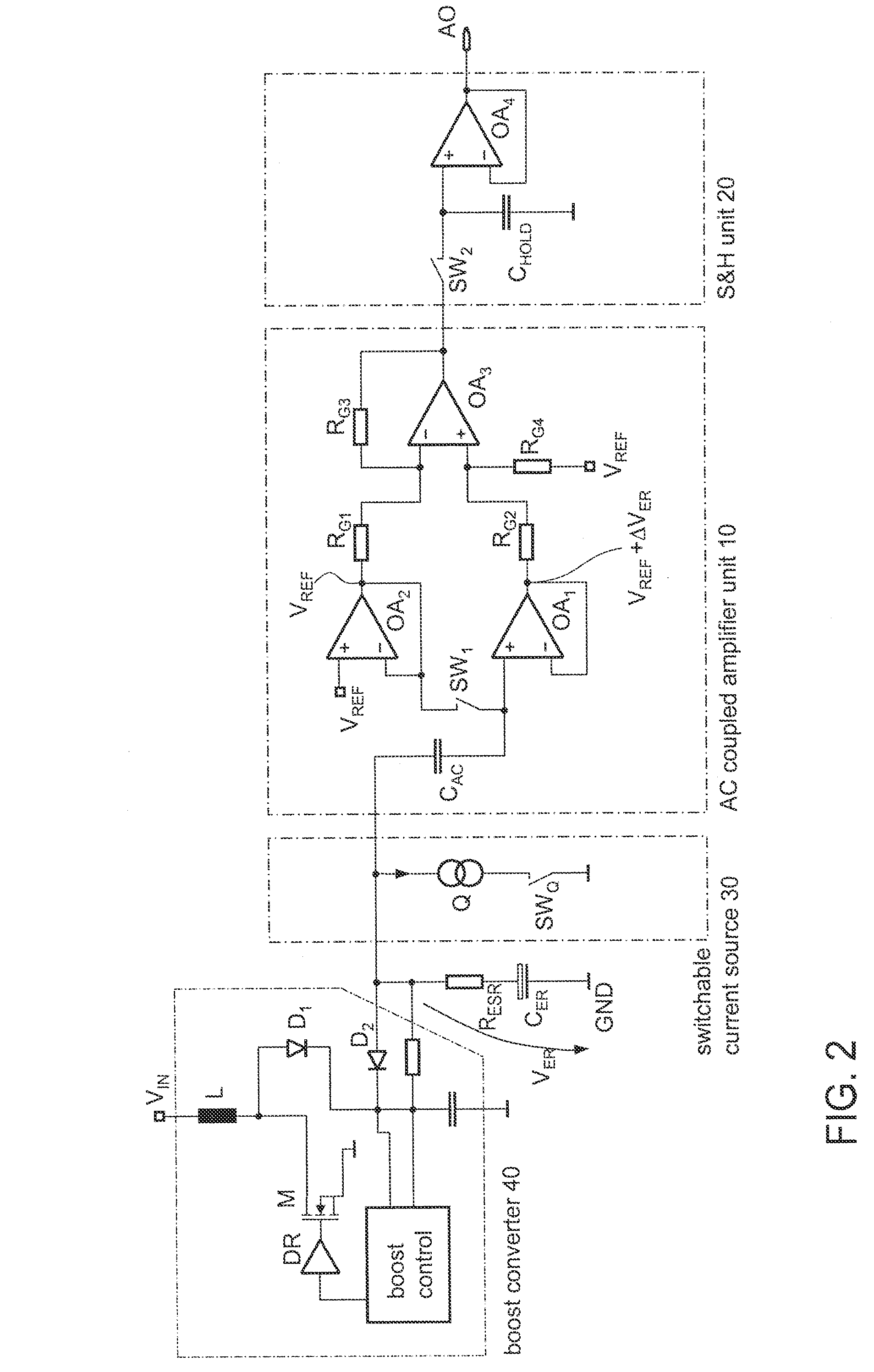 Patent Us7898268 Circuit And Method For Capacitor Effective Series Ac Coupling Offset Voltage In Amplifier Drawing