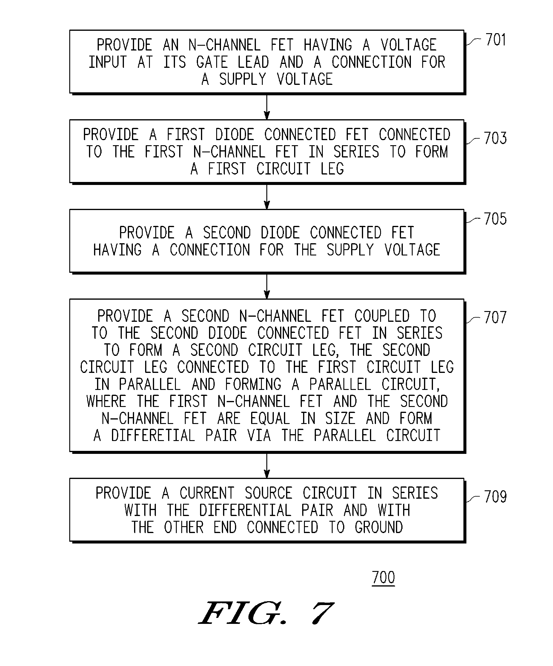 Patent Us7898301 Zero Input Current Drain Comparator With High Series Circuit Connection Drawing