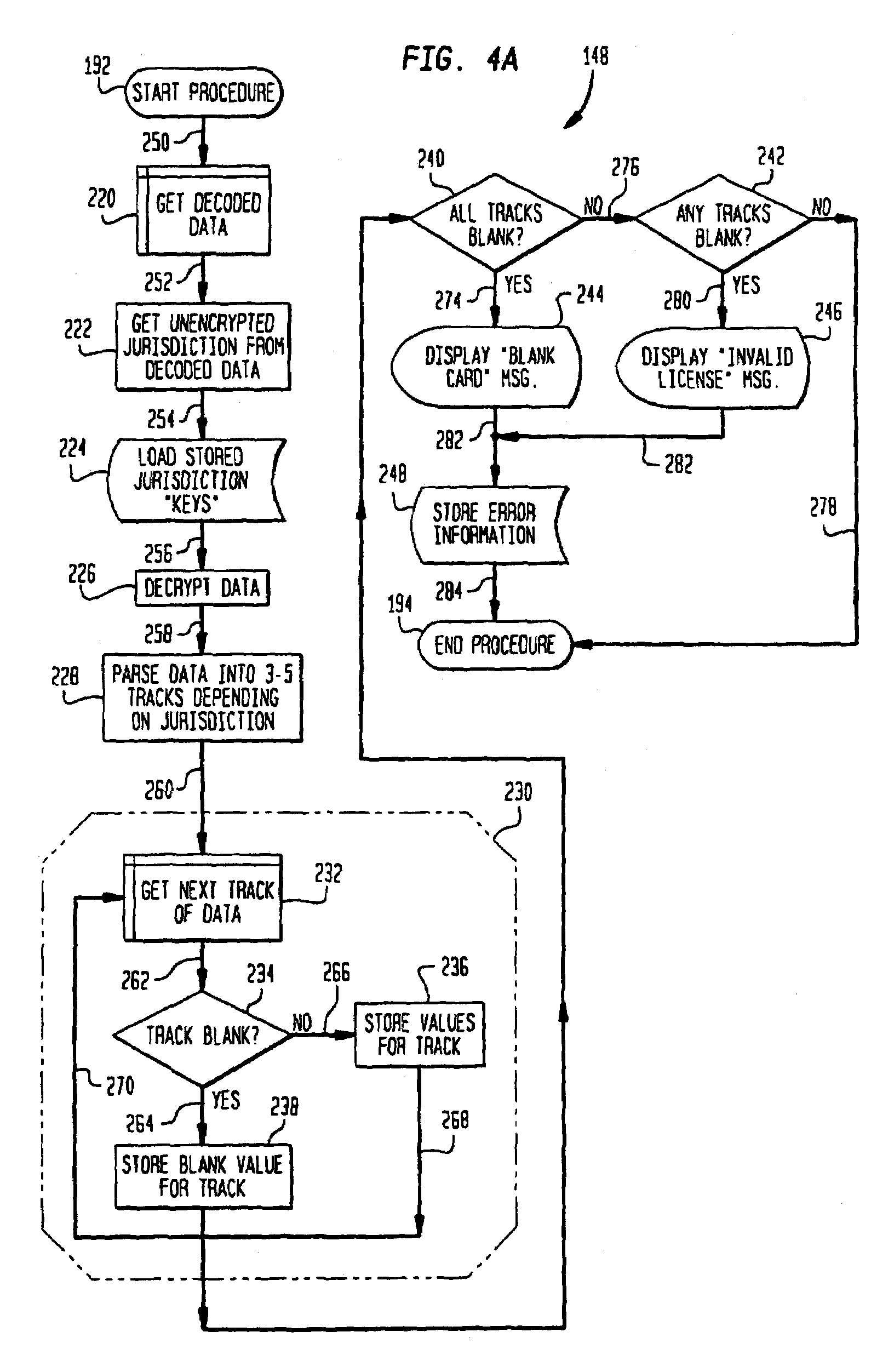 Patent us7899751 parsing an identification document in accordance patent drawing ccuart Images