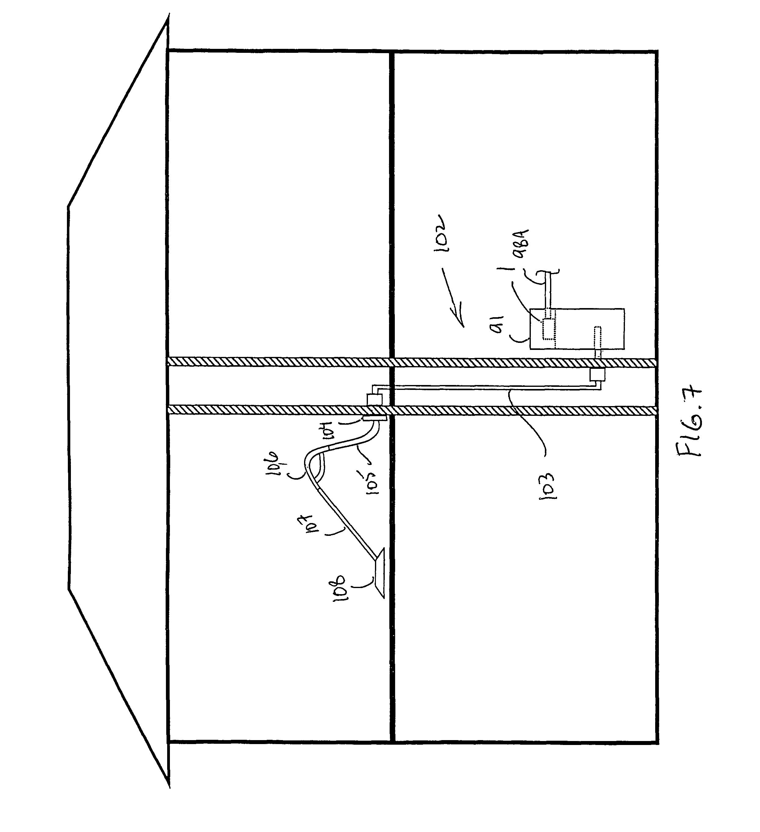 patent us7900315 integrated central vacuum cleaner suction patent drawing