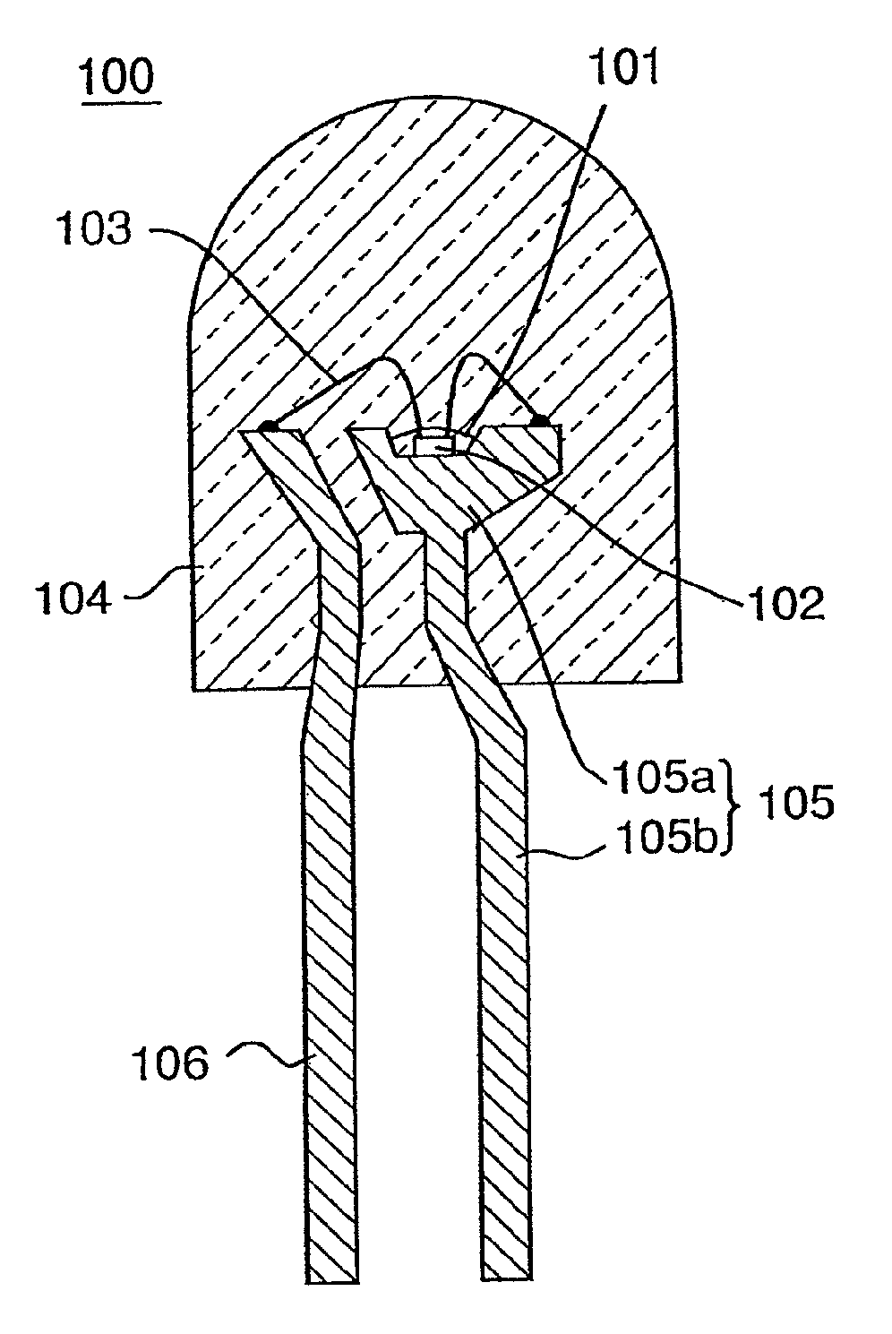 patent us7901959 - liquid crystal display and back light having a light emitting diode