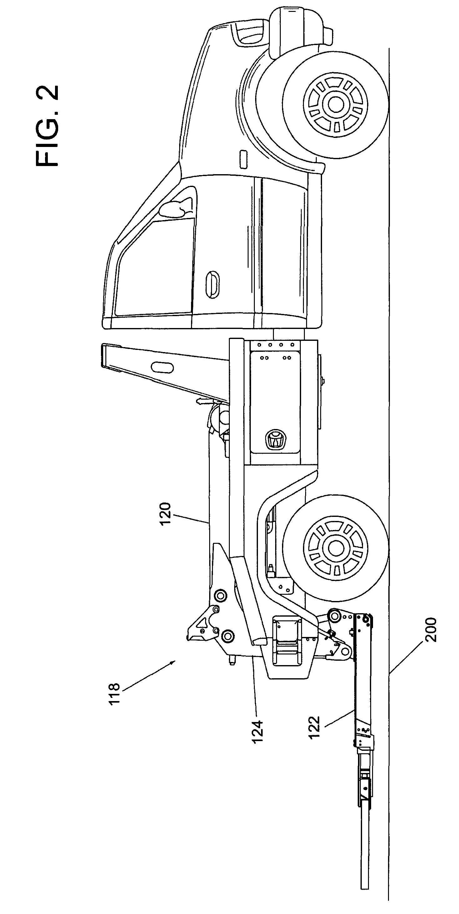 patent us7909561 tow truck underlift control google patents patent drawing