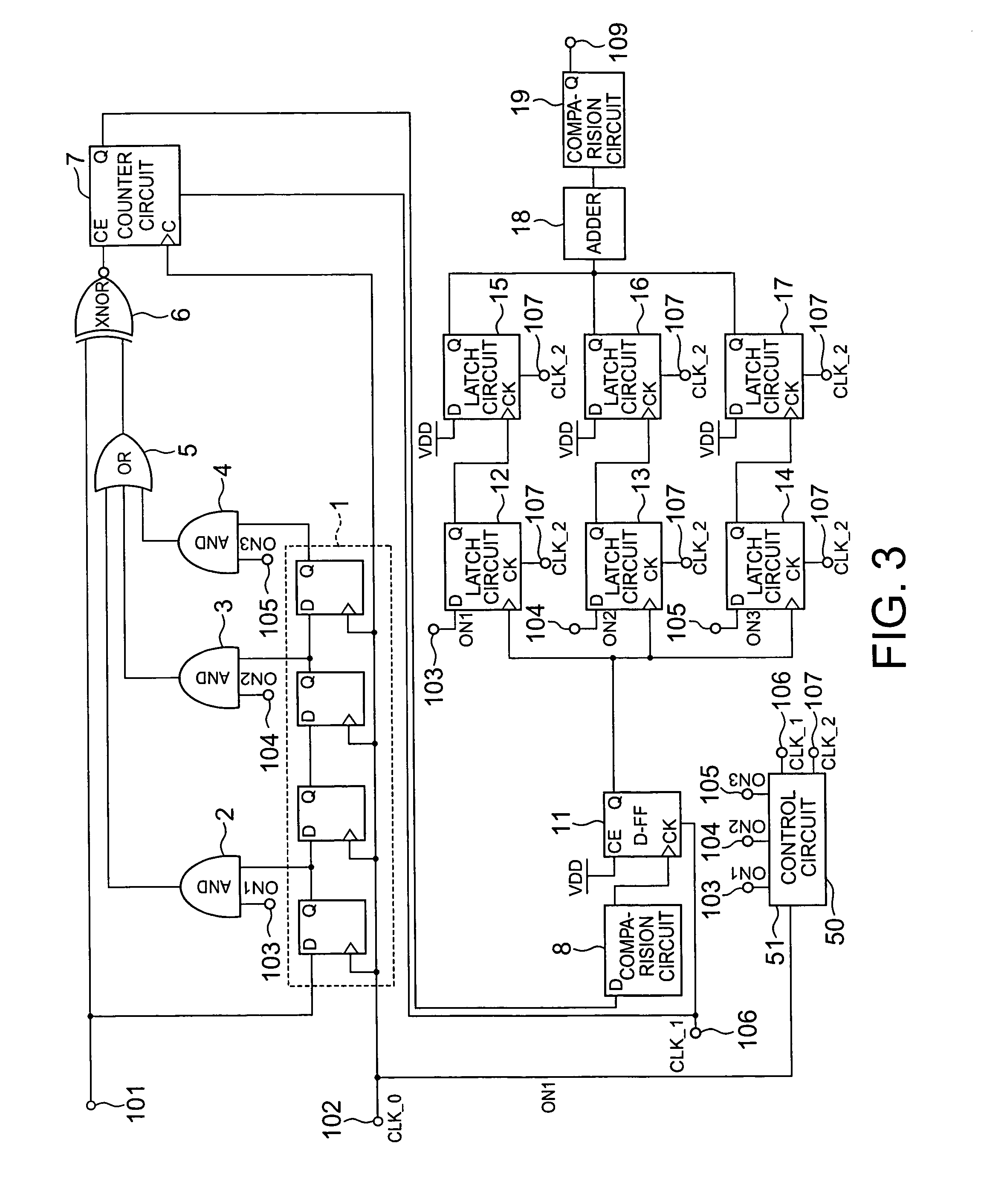 Patent Us7917560 Random Number Test Circuit Google Patents Latching Circuits Schematic Picture Drawing