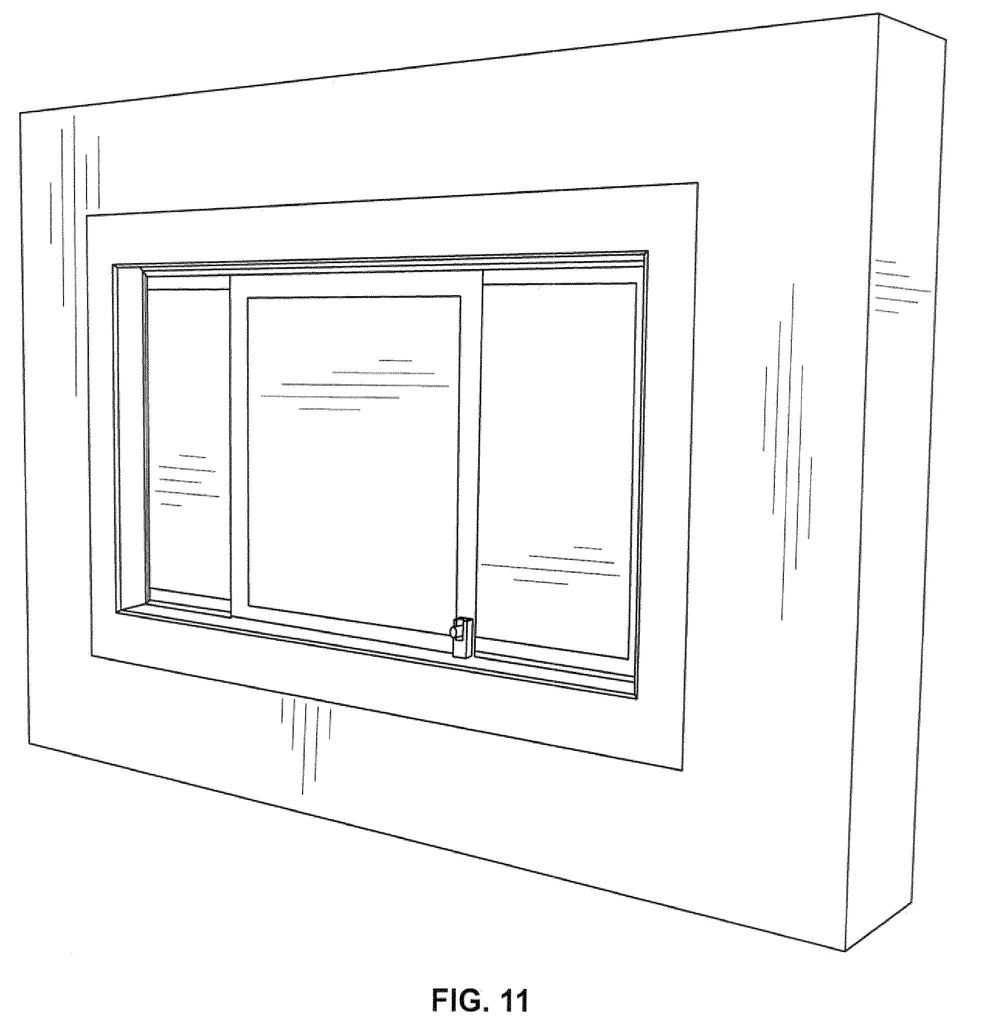 2051 #3C3C3C Patent US7918063 Garage Door Window   Patents save image Google Garage Doors 36371969