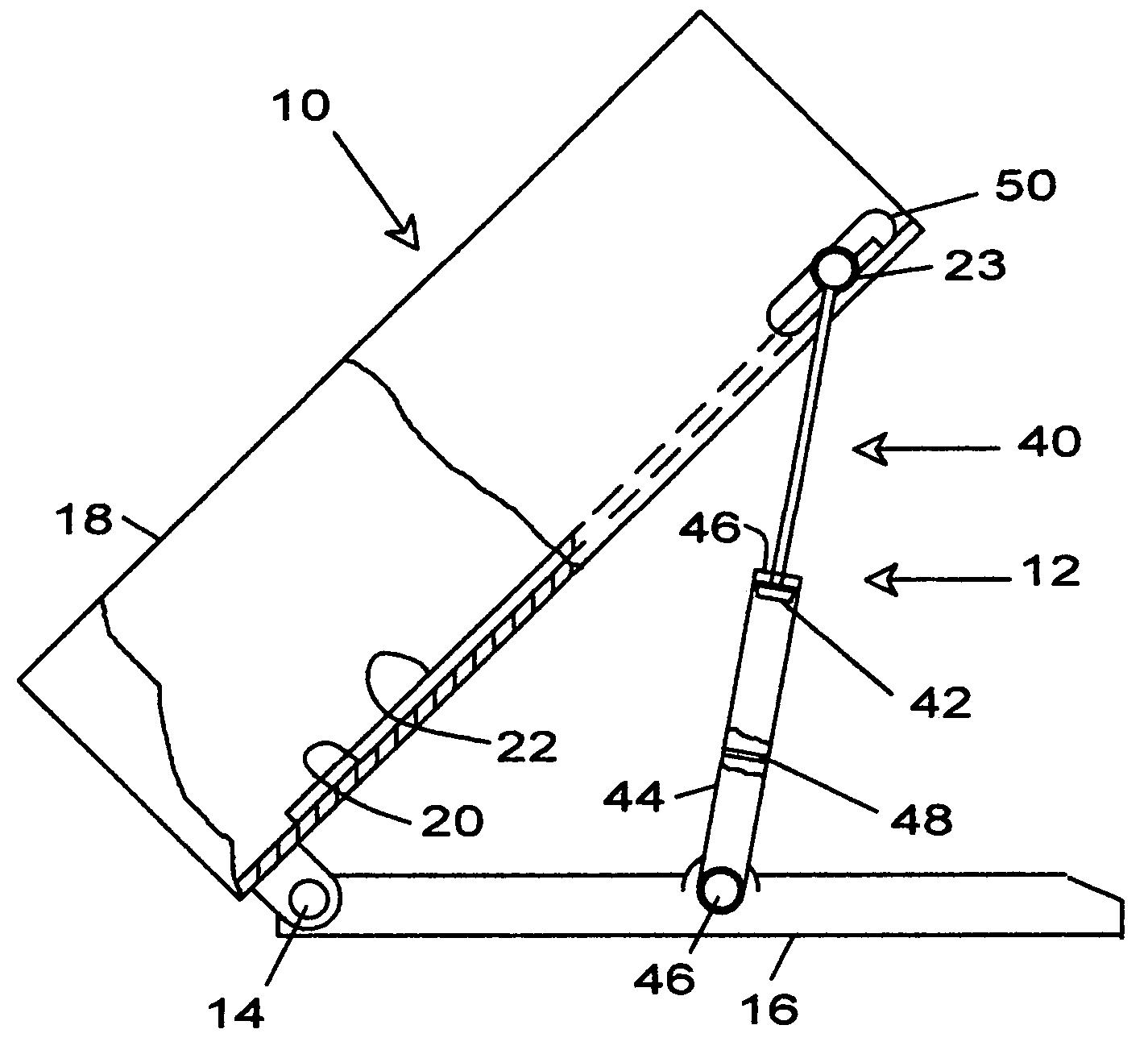 patent us7918638 - bed scraping apparatus for efficient bulk