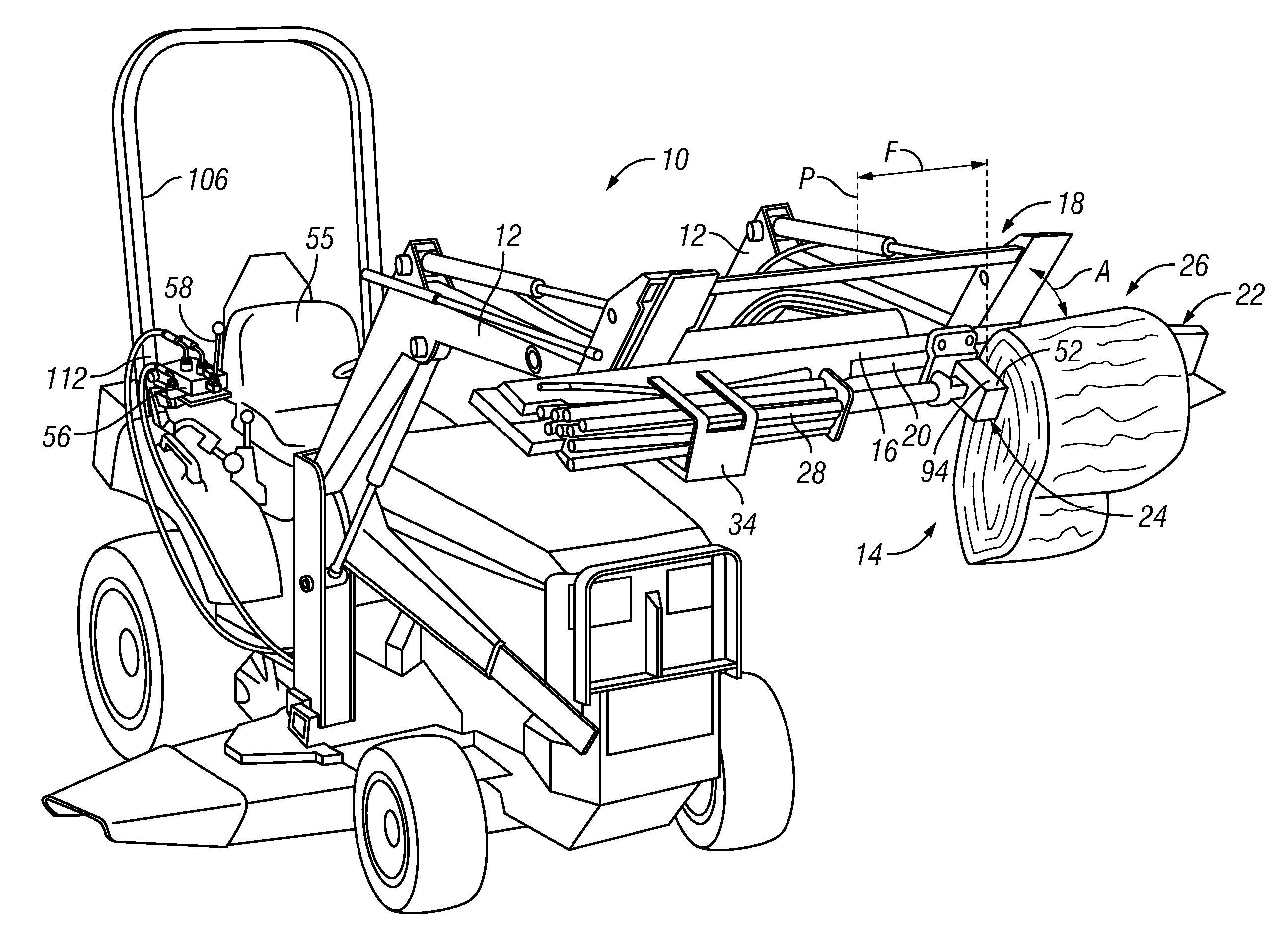 Patent Us7934524 - Log Splitter System For A Front-loader Tractor
