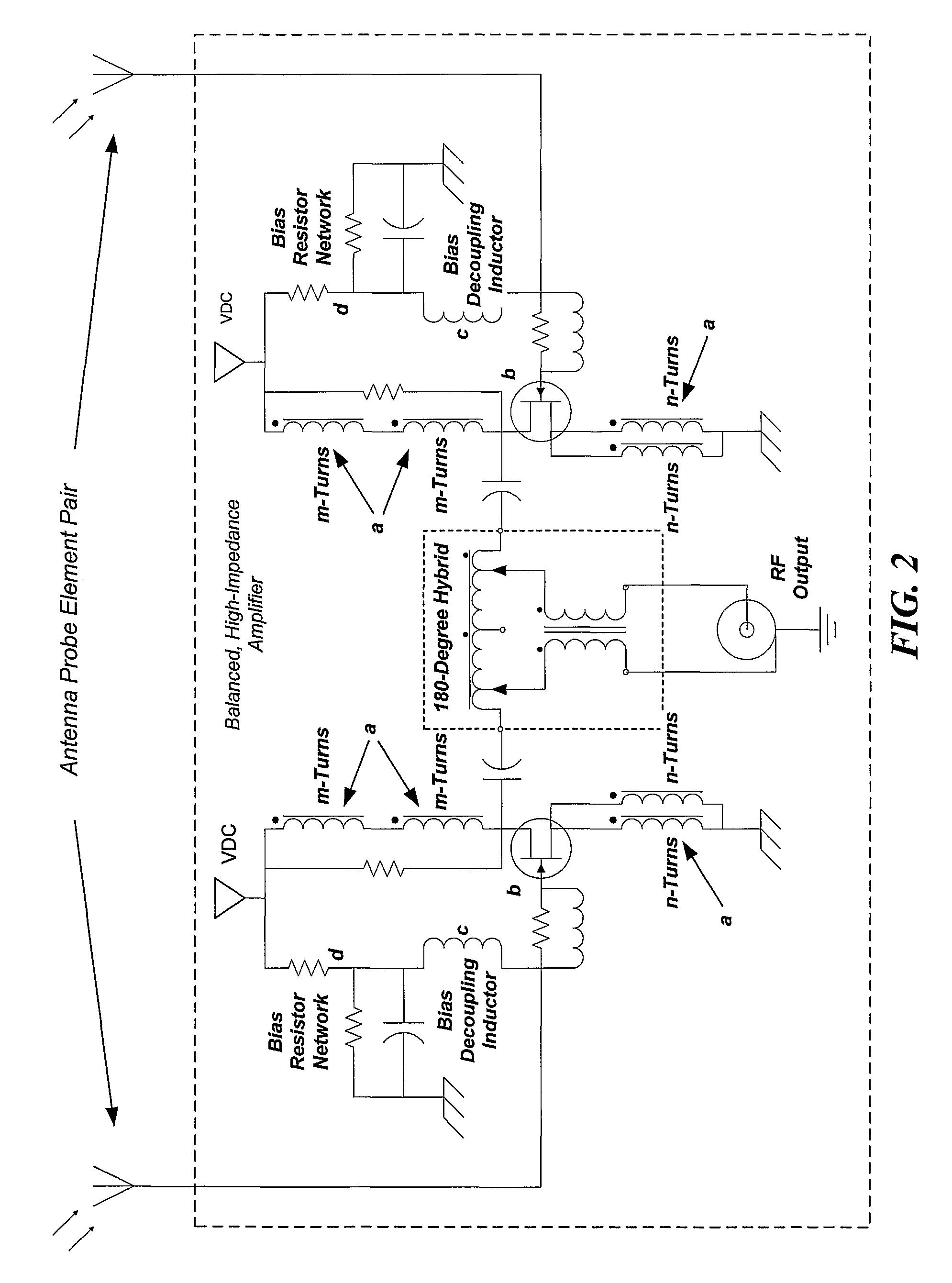 patent us7936311 - directive  broadband  high gain  active antenna system
