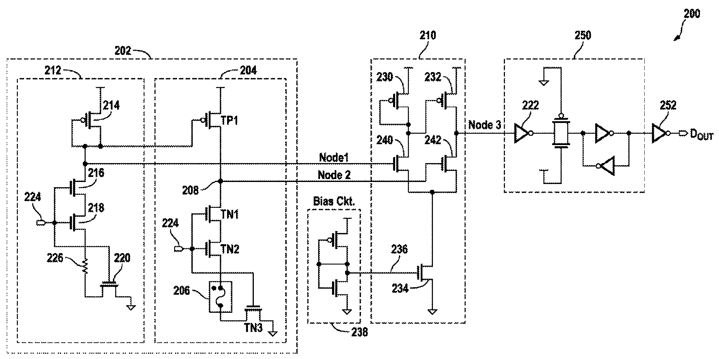 Patent Us7936582 E Fuse Read Circuit With Dual Comparators Simple Transistor Latch Easy Free Simulator Drawing
