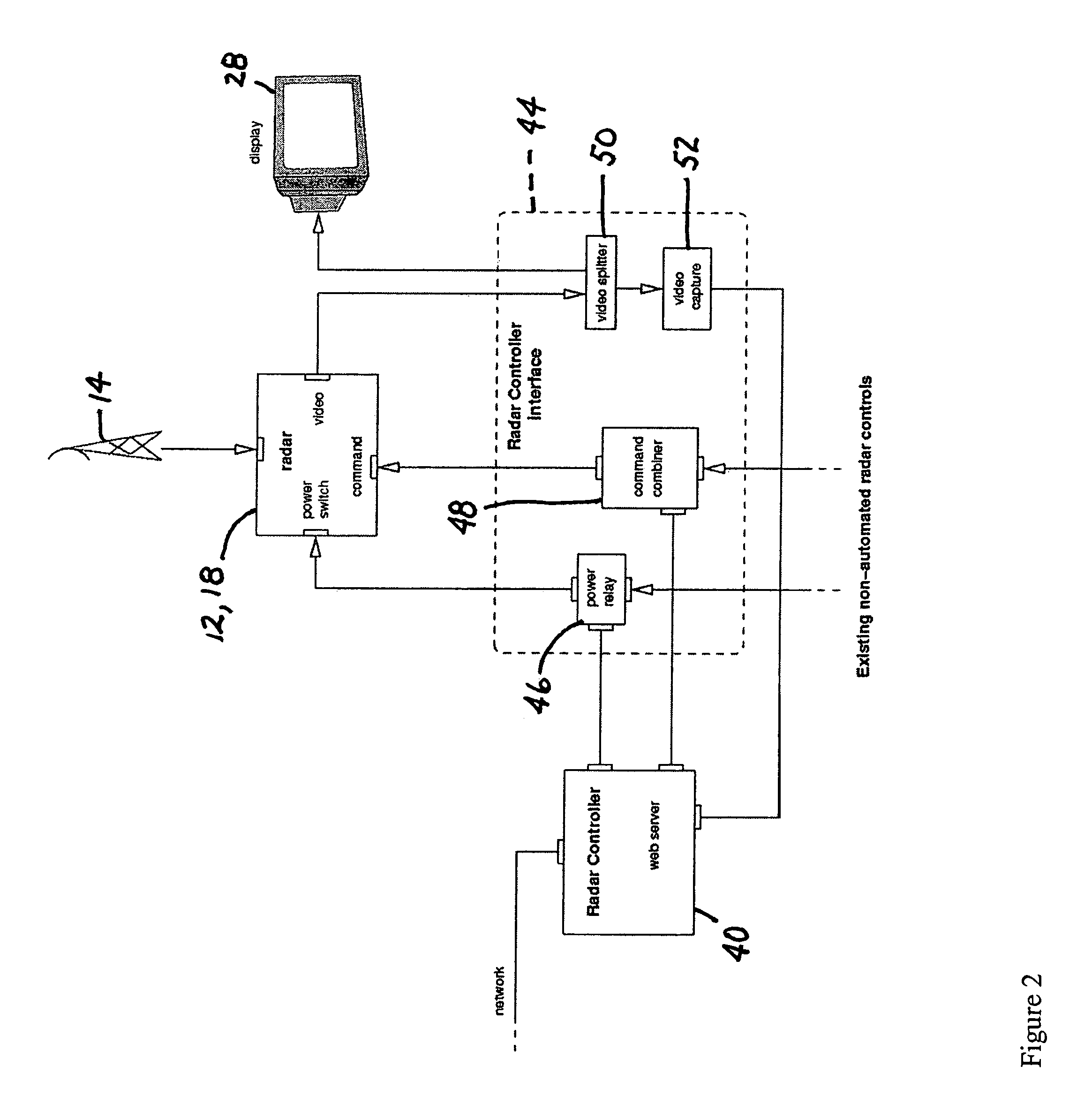 patent us7940206 low cost high performance radar networks patent drawing
