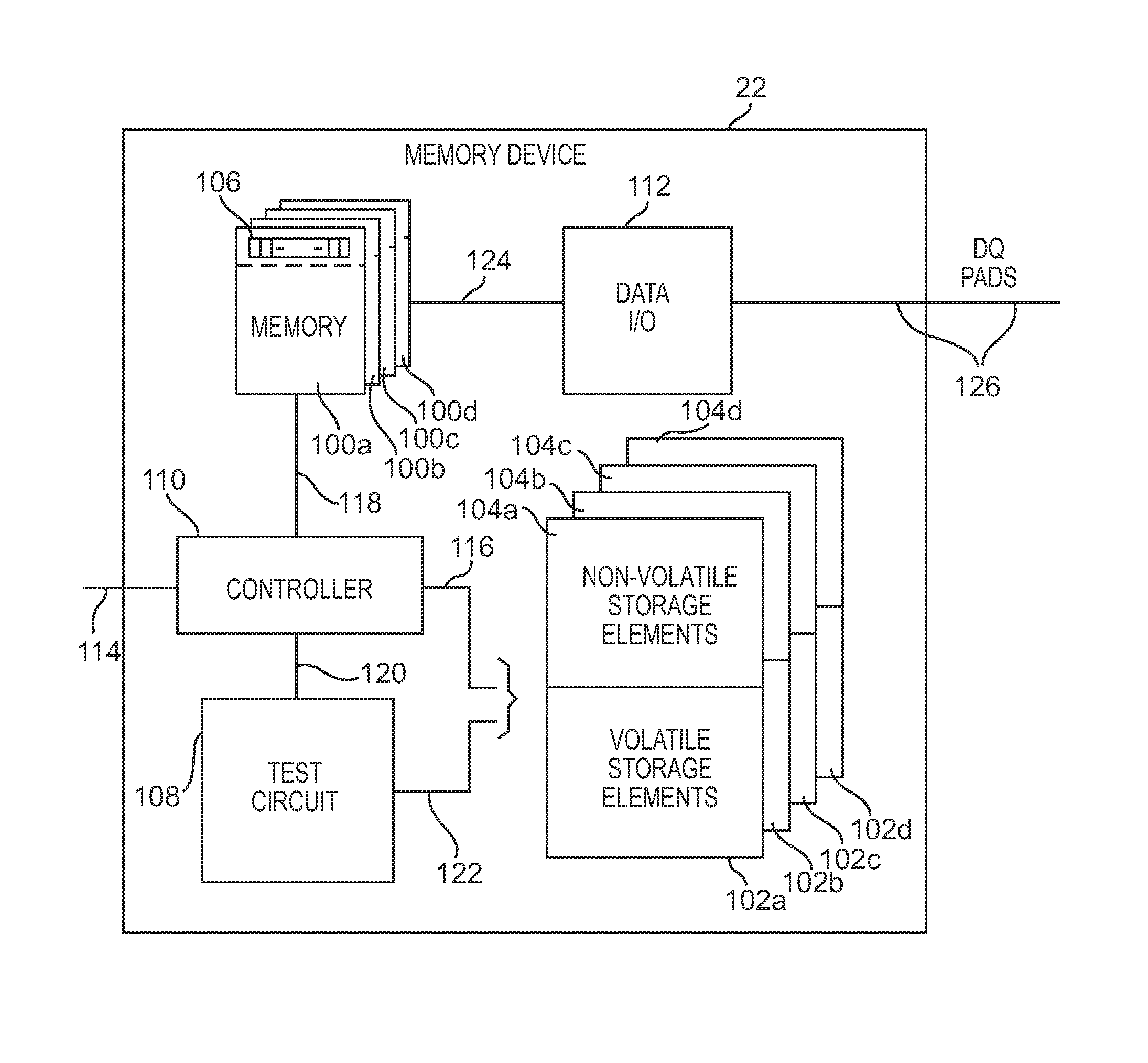 Patent Us7940582 Integrated Circuit That Stores Defective Memory Erasable Programmable Readonly Circuits These Drawing