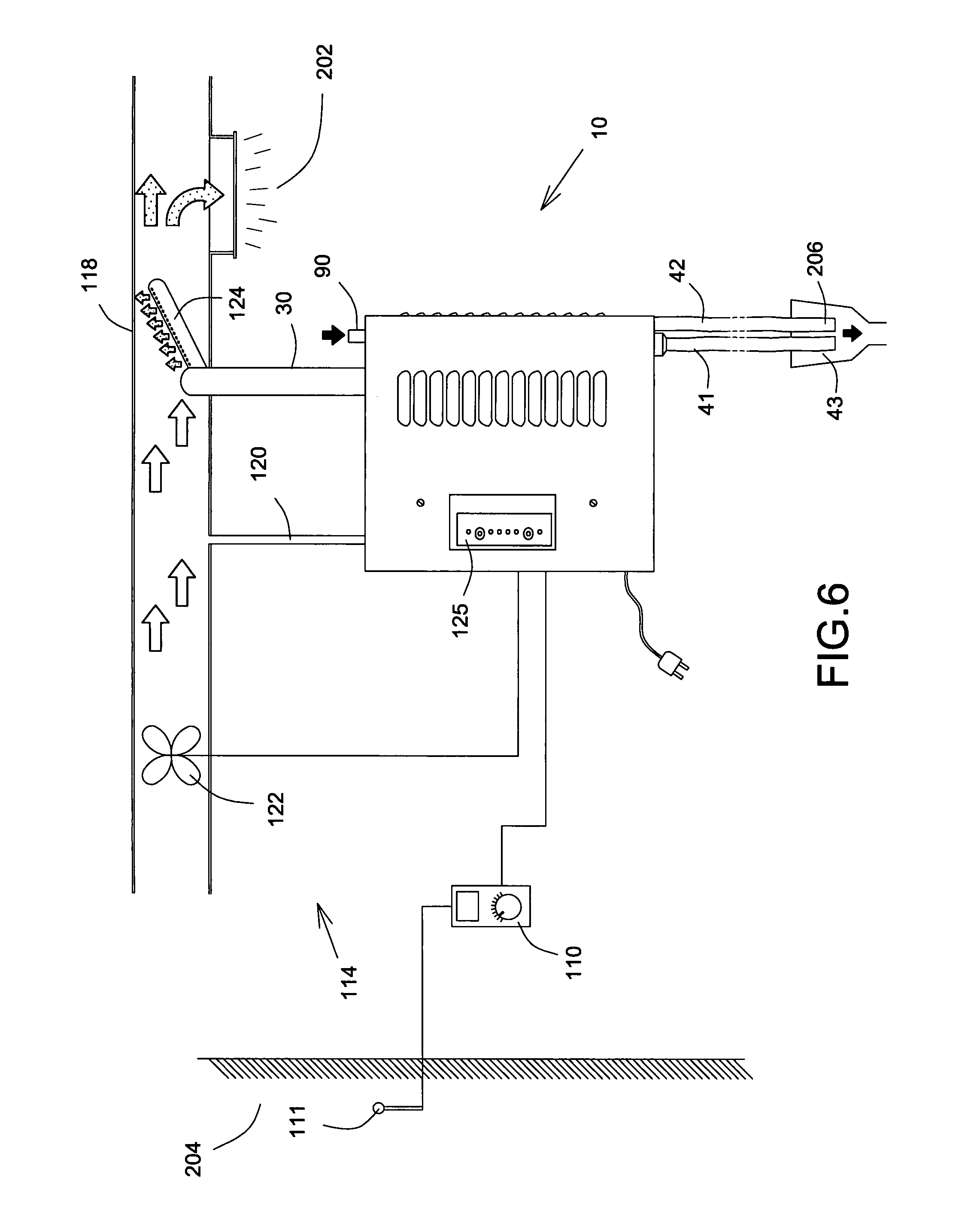 patent us7942390 steam humidifier patents