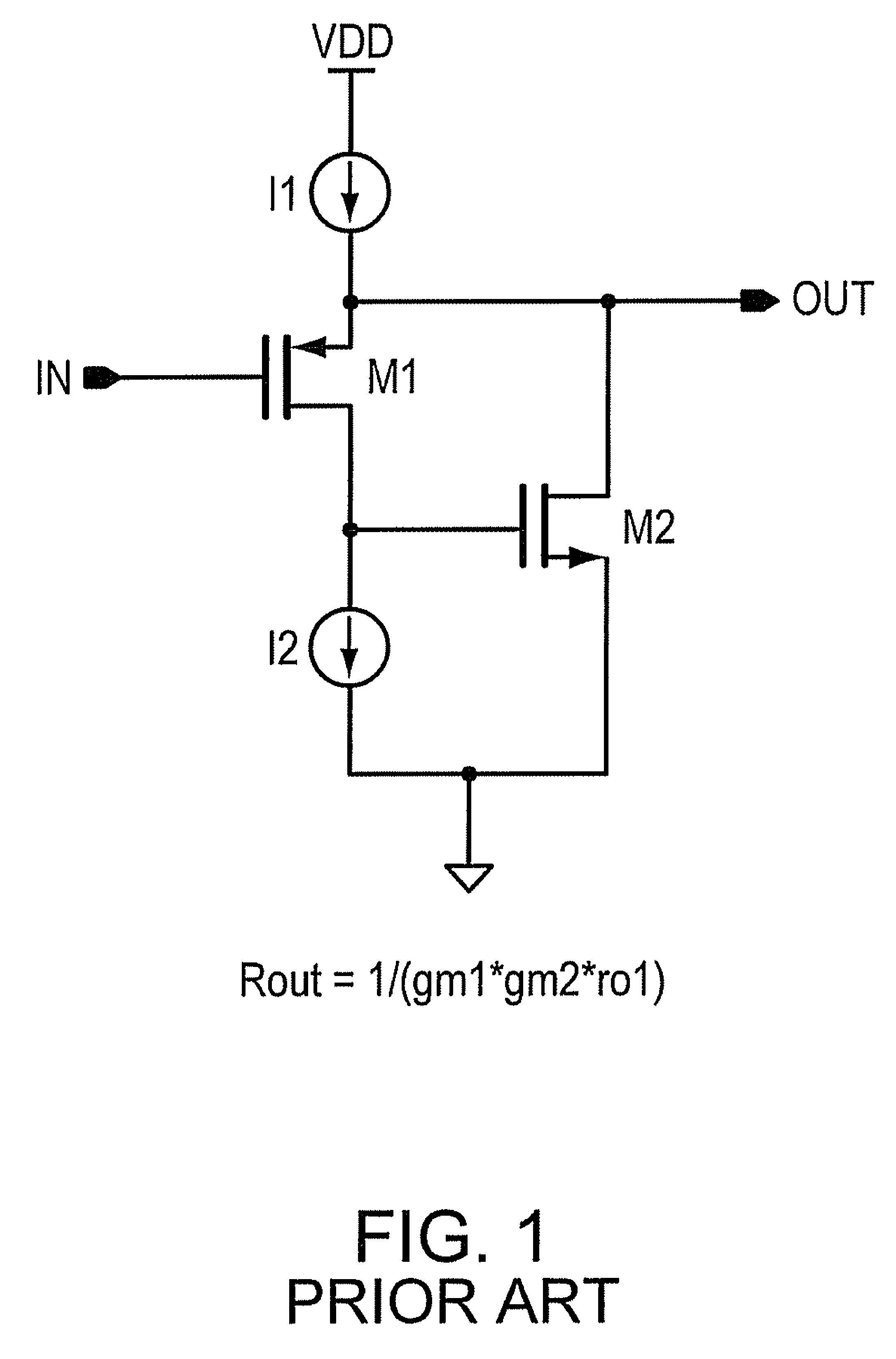 patent us7944303 - super source follower output impedance enhancement