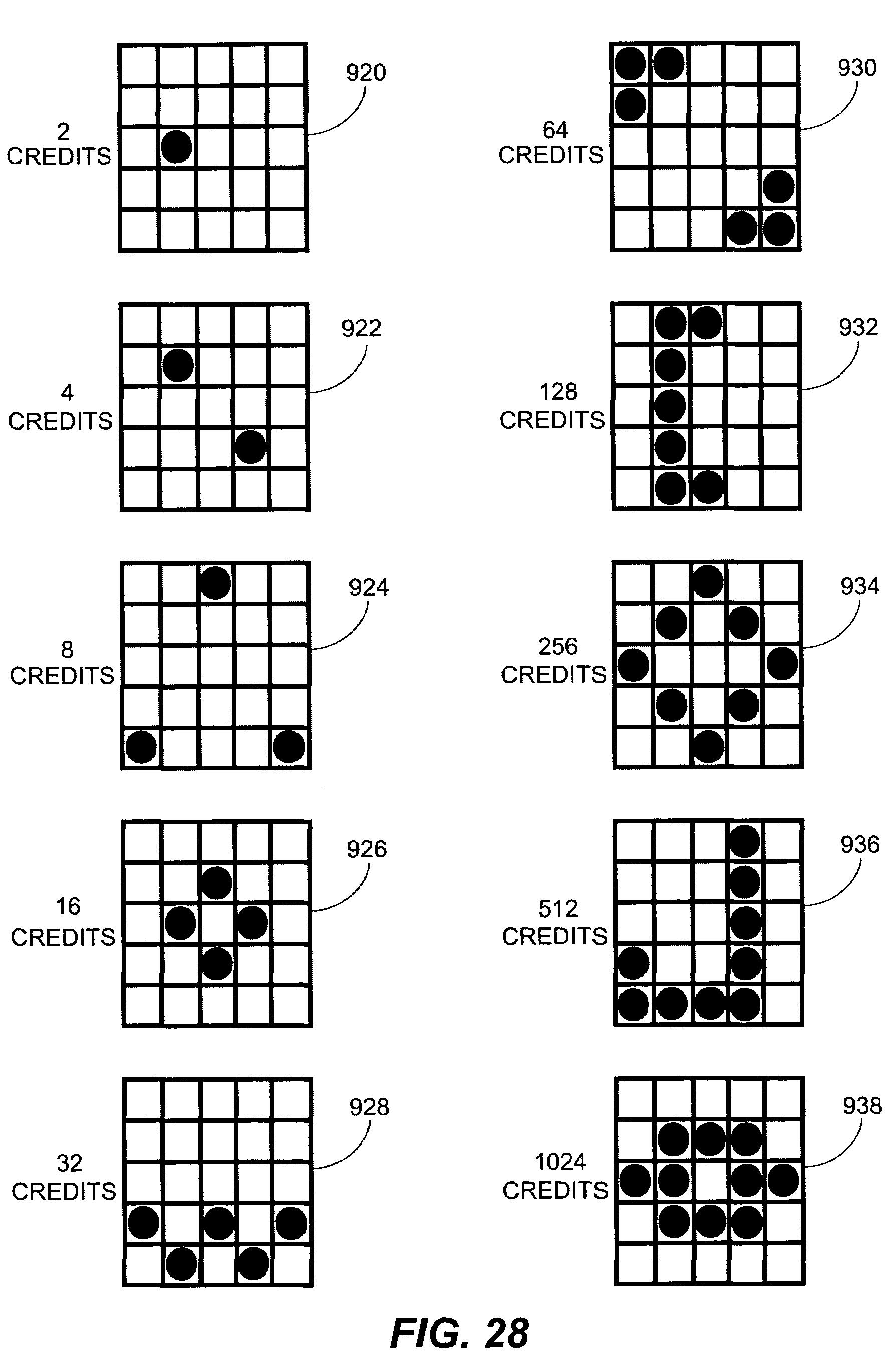 print bingo game patterns