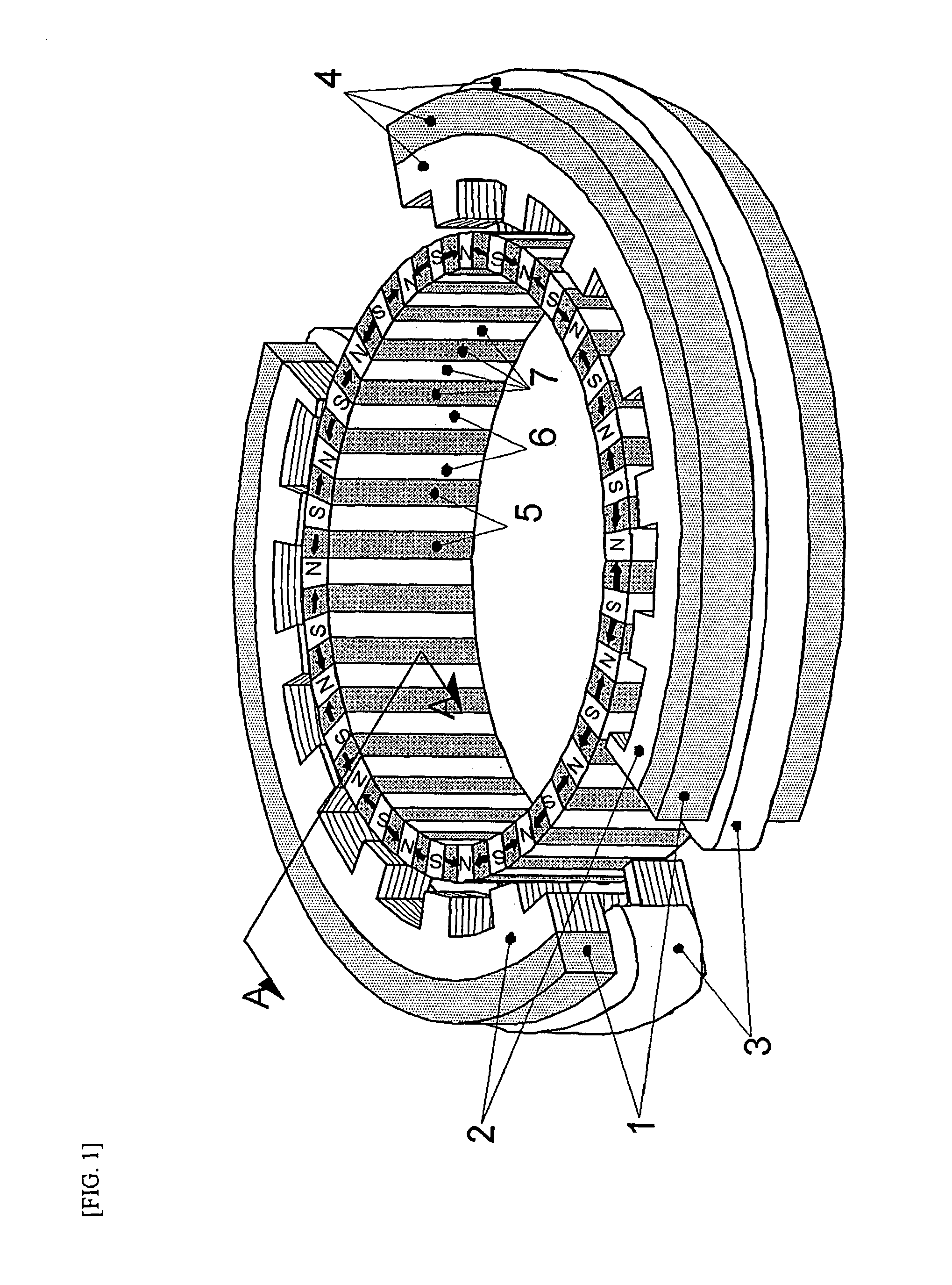 Patent Us7952252 Inner Rotor Type Permanent Magnet