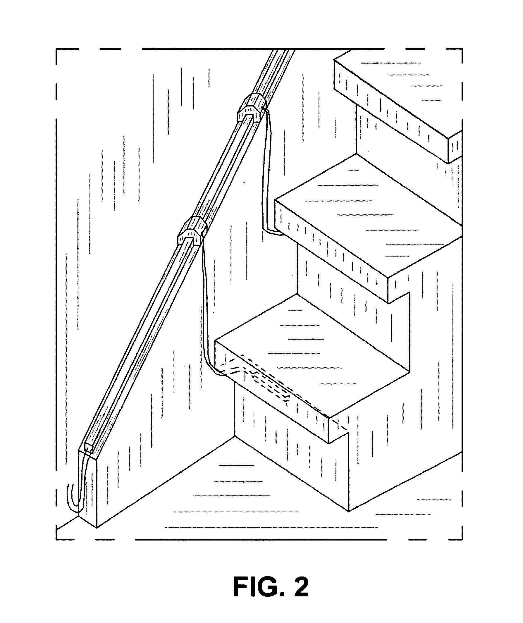 Stair Light Detail: Stair Lighting System, And Method For