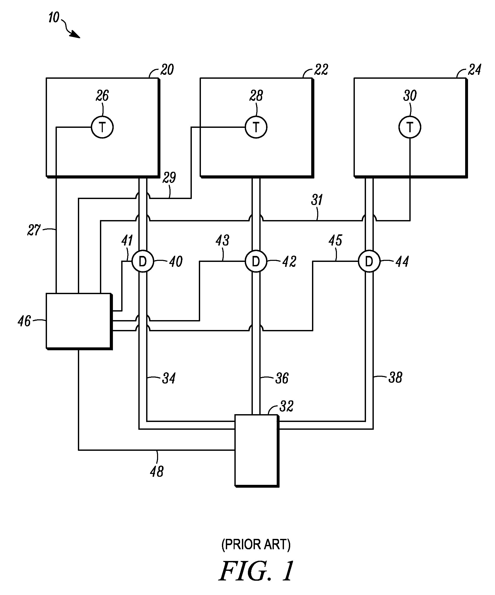 patent us7957839 hvac zone controller google patents patent drawing