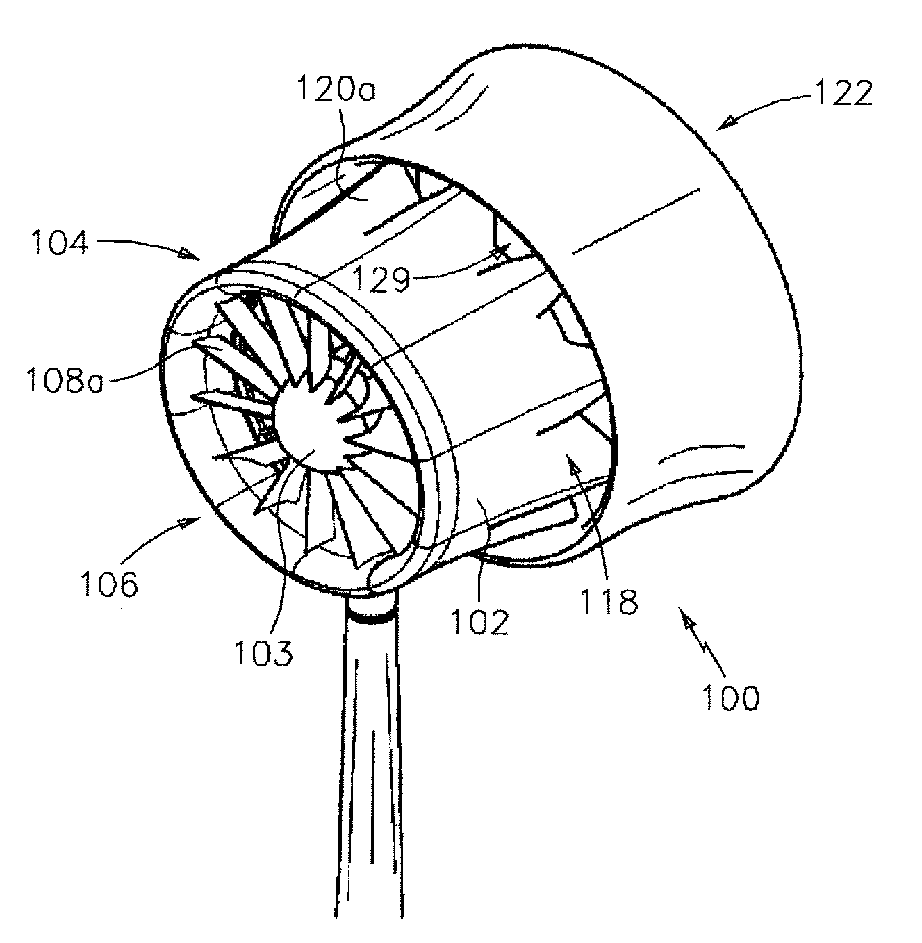 patent us7976268 wind turbine with mixers and ejectors google