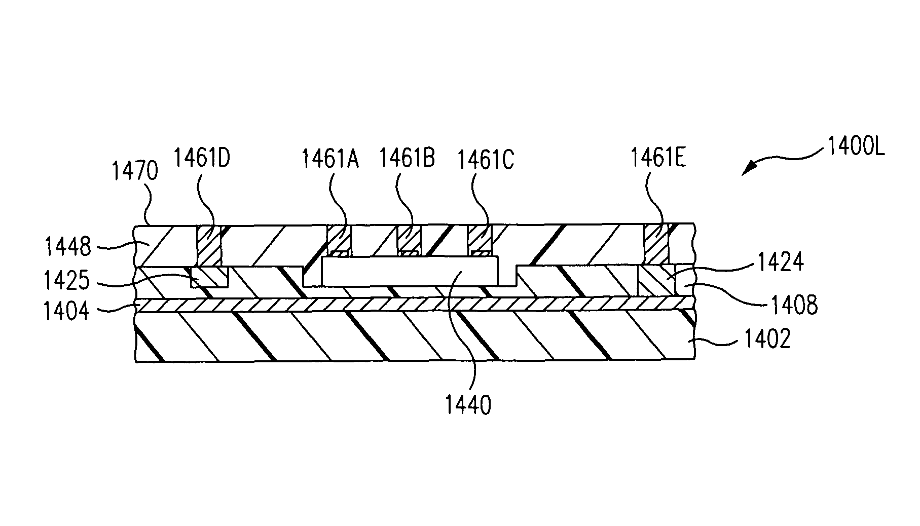 Patent Us7977163 Embedded Electronic Component Package Fabrication Cable Pinout Diagrams Drawing