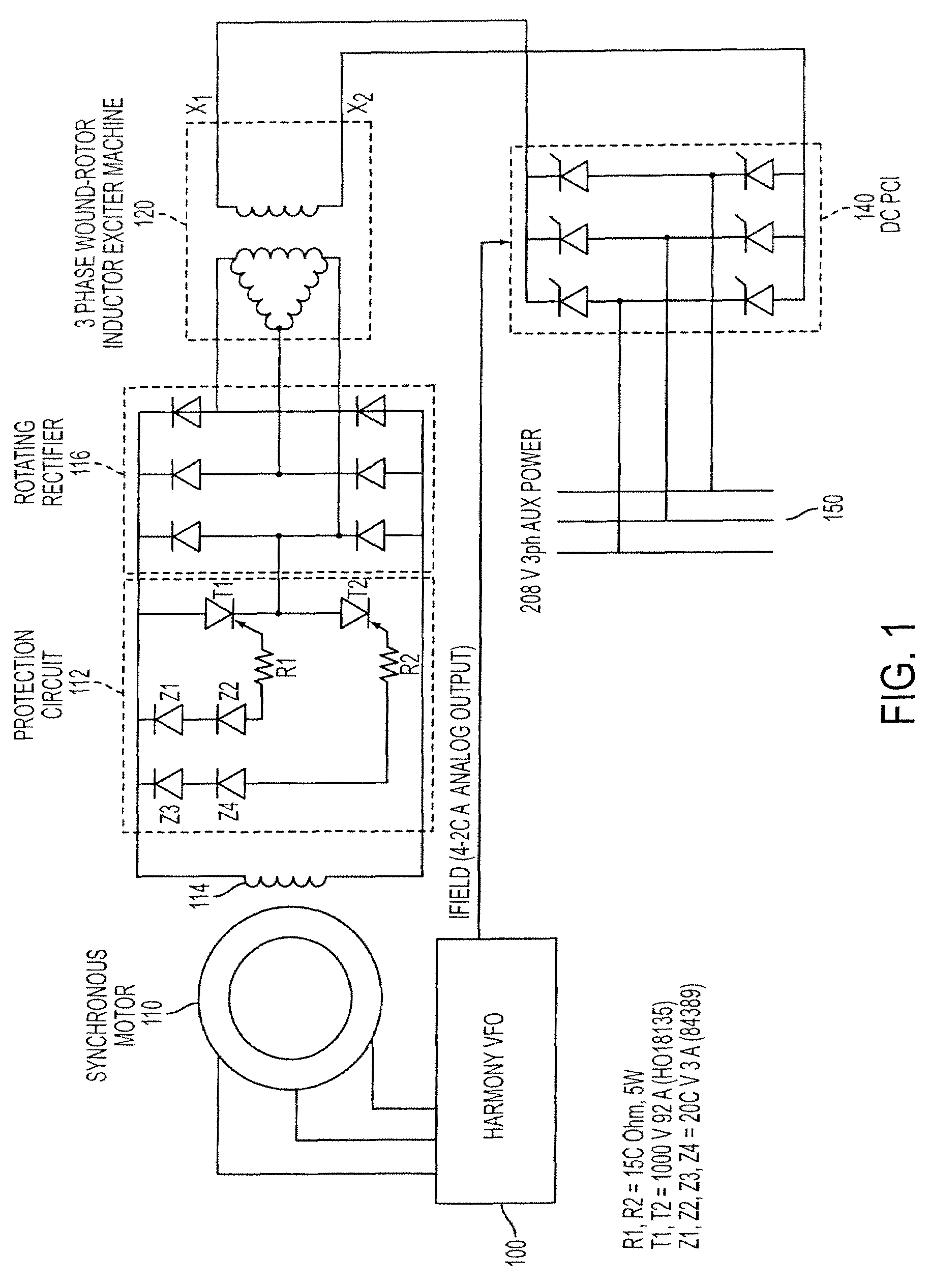 Patent us7977910 method of starting a synchronous motor for Synchronous motor speed control method
