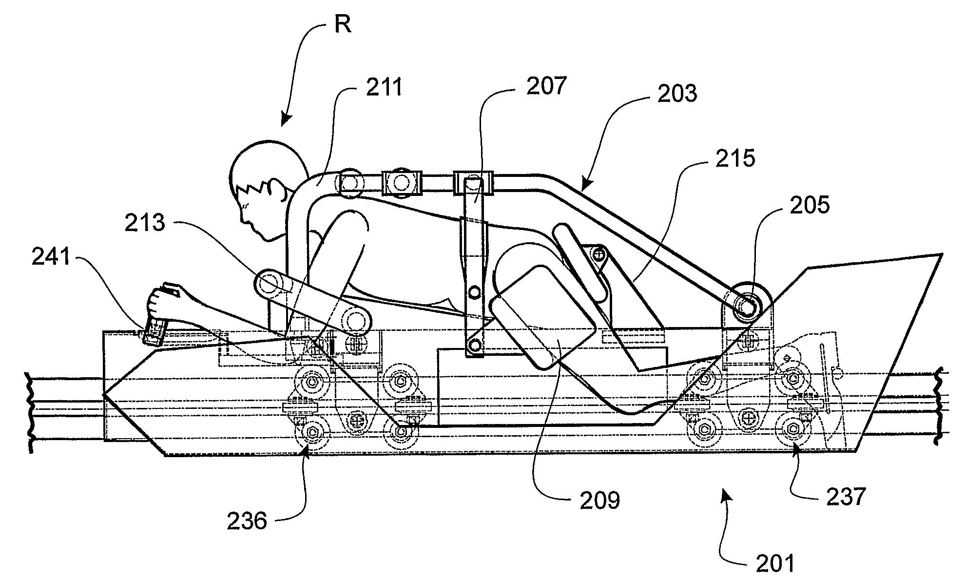 Patent Us7980181 Drag Racing Roller Coaster Amusement