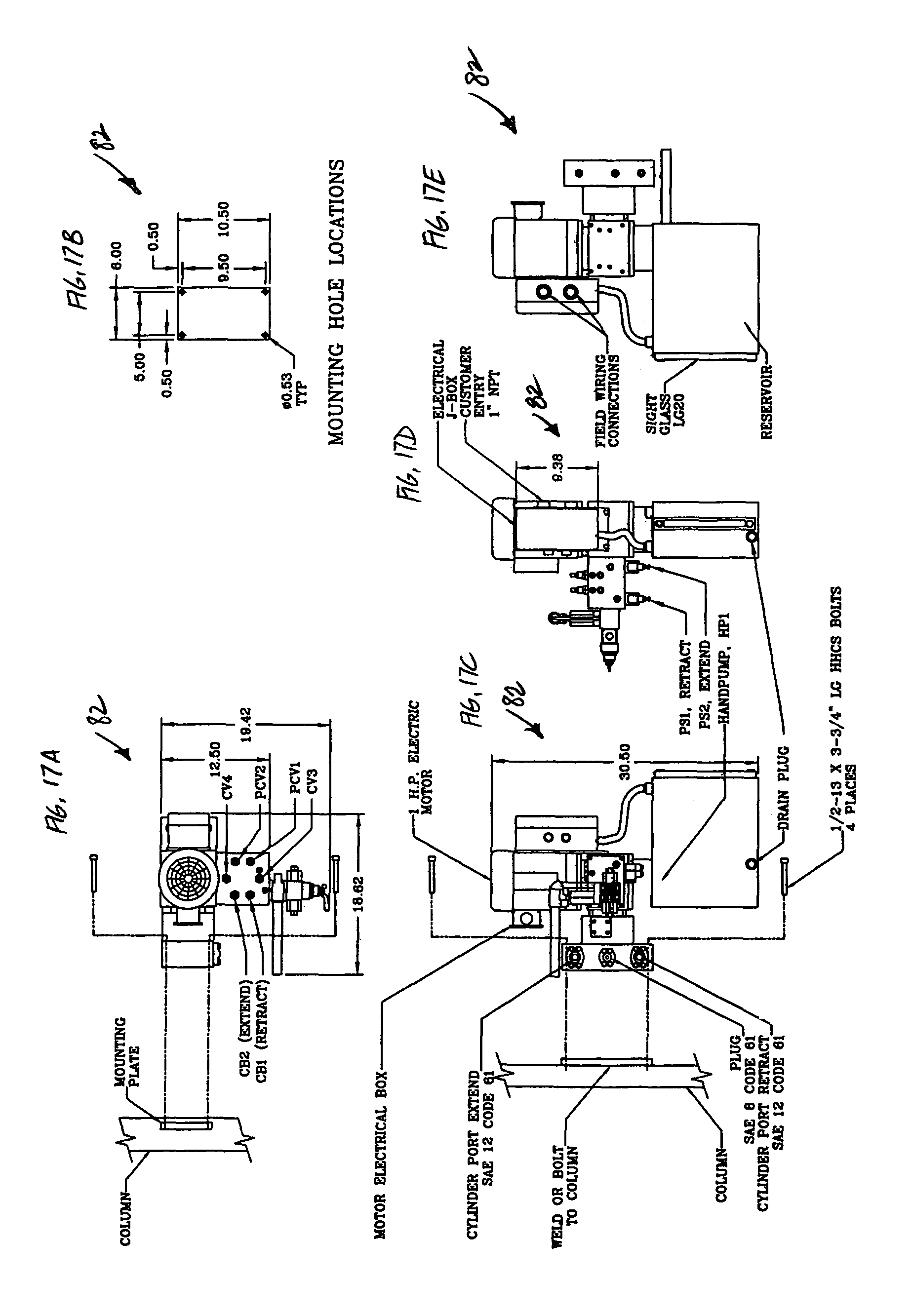 US07980636 20110719 D00019 patent us7980636 automated gate control and methods google patents dump trailer hydraulic pump wiring diagram at cita.asia