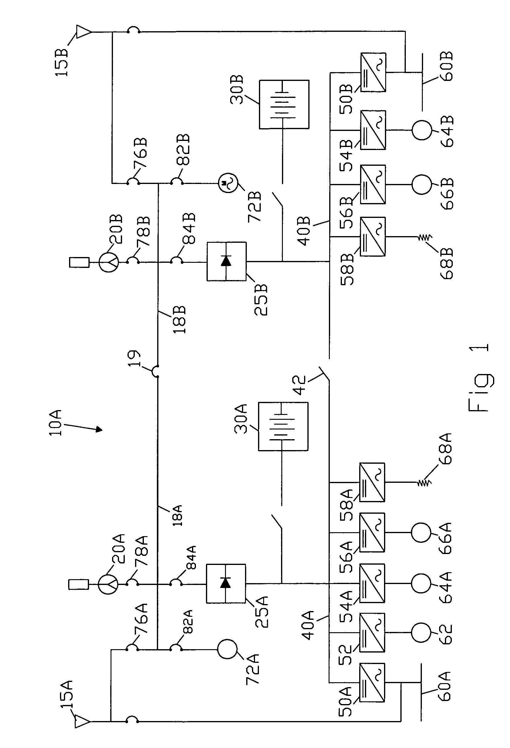 US07980905 20110719 D00001 patent us7980905 method and apparatus for providing power to a rv power center wiring diagram at nearapp.co
