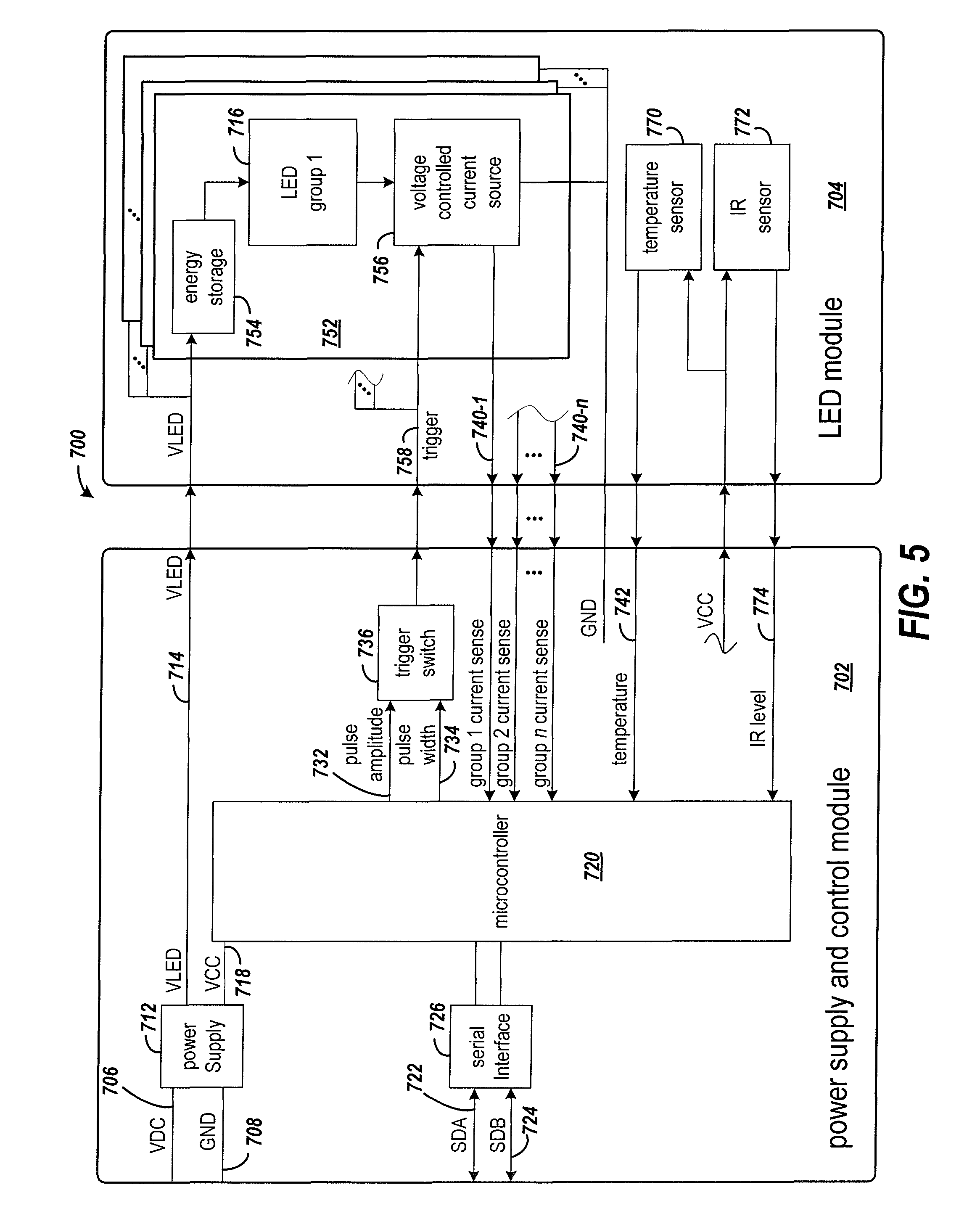 patent us7982631 led emitter for optical traffic systems patents