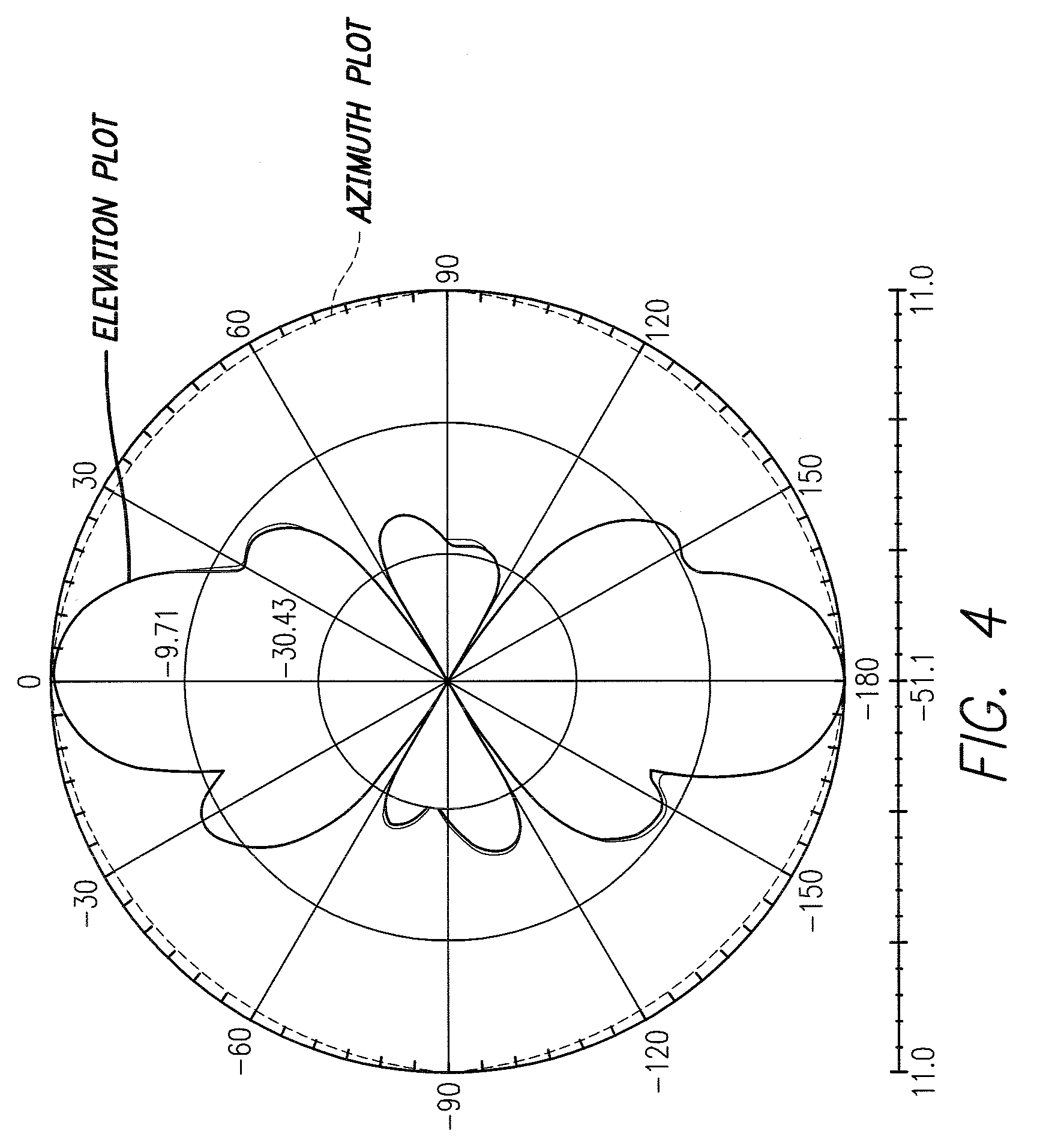 patent us7986280 - multi-element broadband omni-directional antenna array