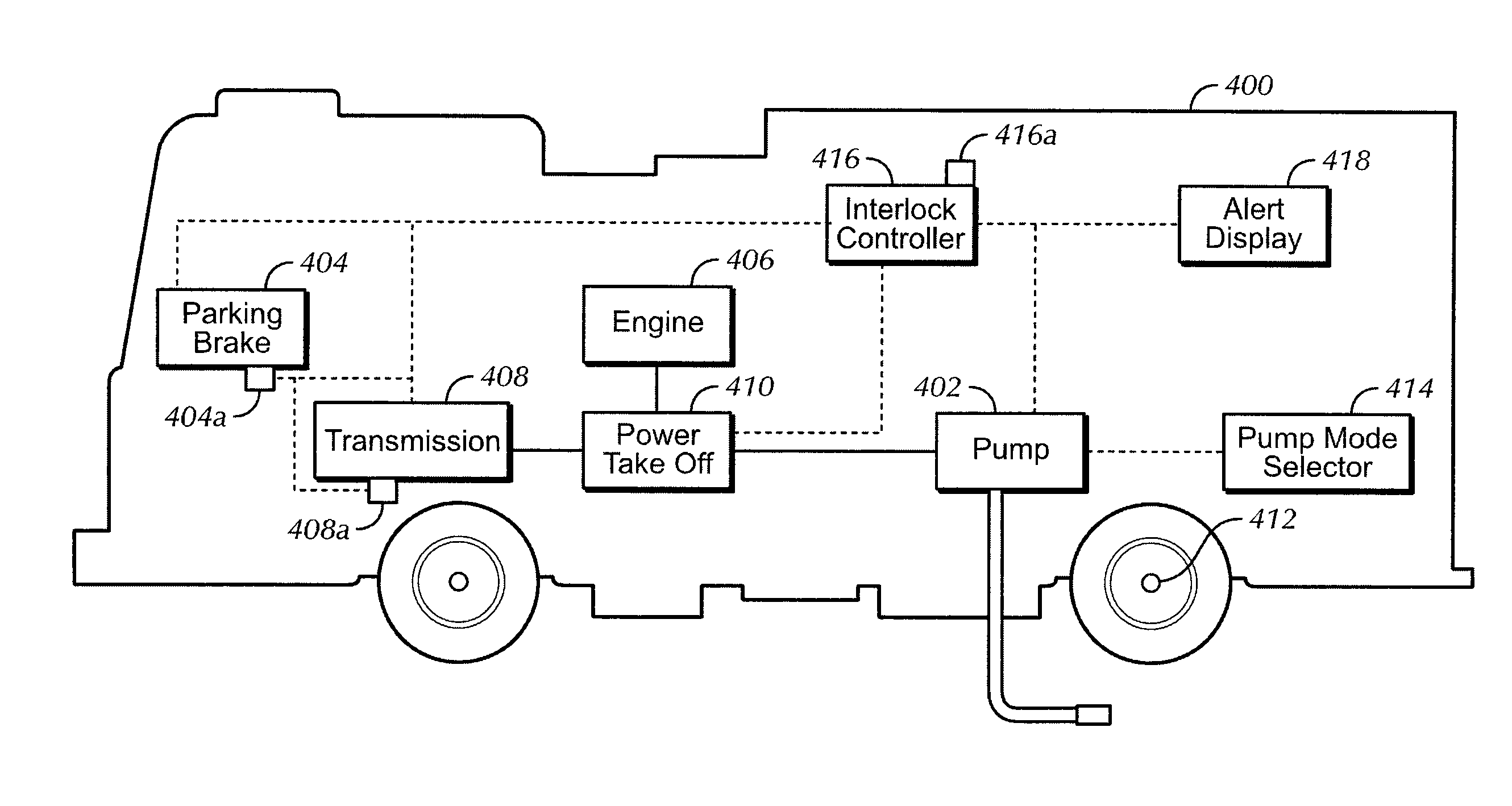 semi truck air system diagram