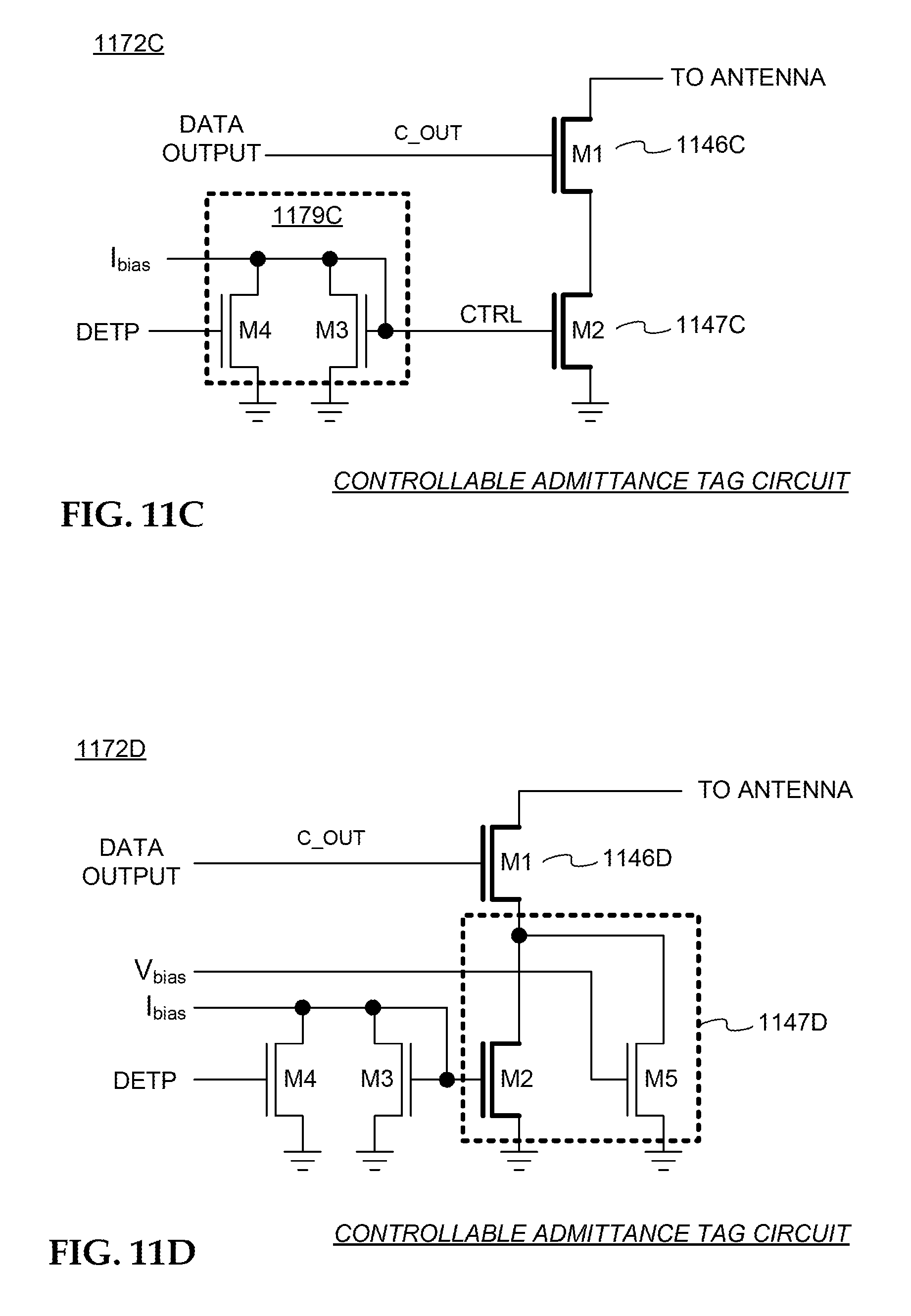 Patent Us7990249 Rfid Tag Circuits Tags And Methods For Block Diagram Of A Chip Drawing