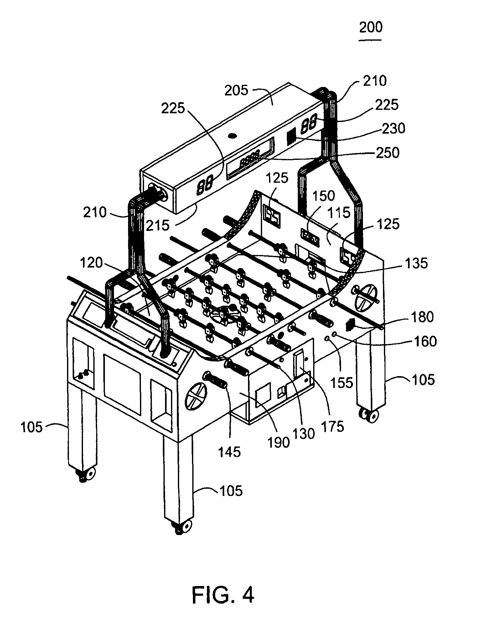 patent us7992872 - foosball table