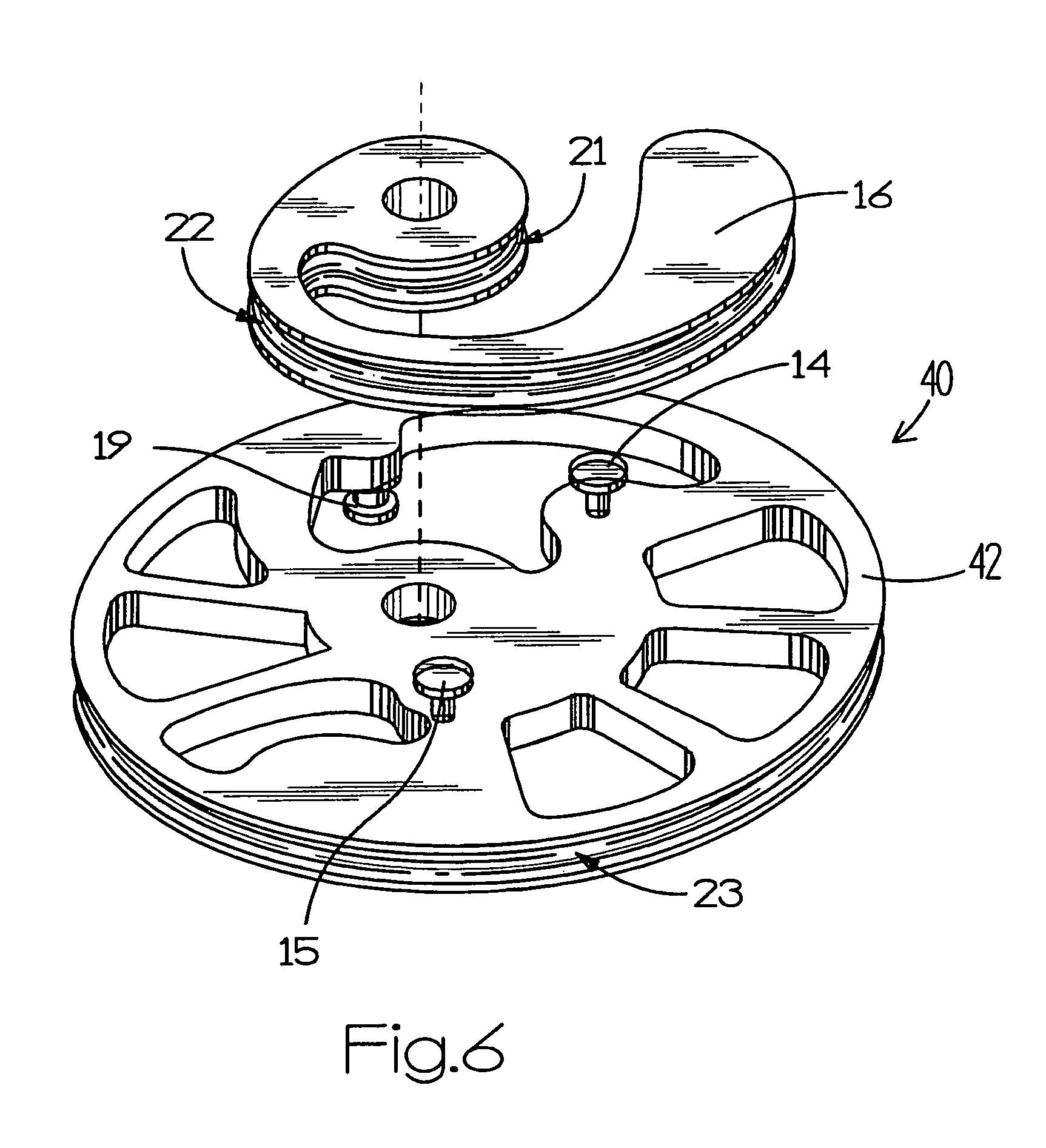 patent us7997259 - compound archery bow