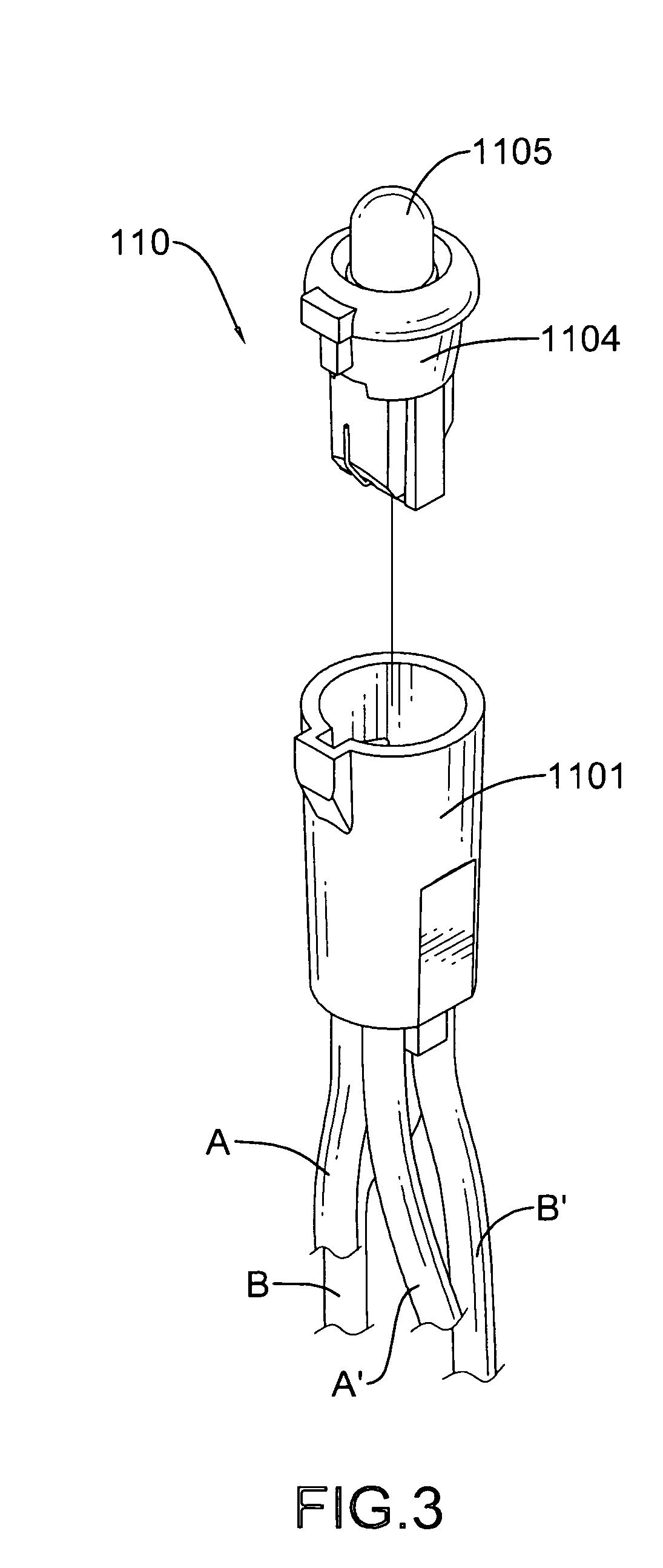 Patent US8007129 - LED-based christmas light string assembly with parallel-wired lighting units ...