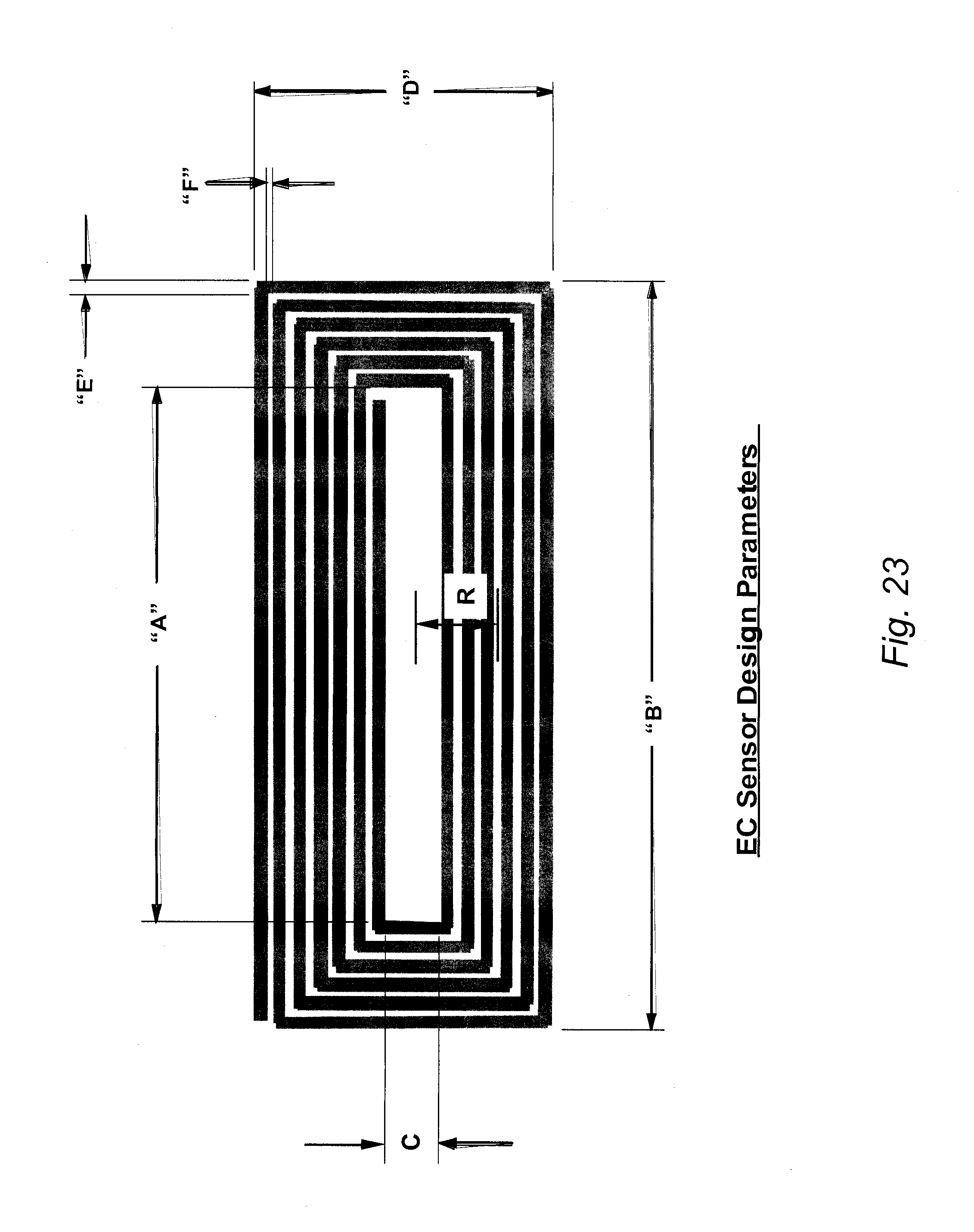 Patente Us8013600 Mountable Eddy Current Sensor For In Situ Remote Circuit Diagram On Patent Drawing
