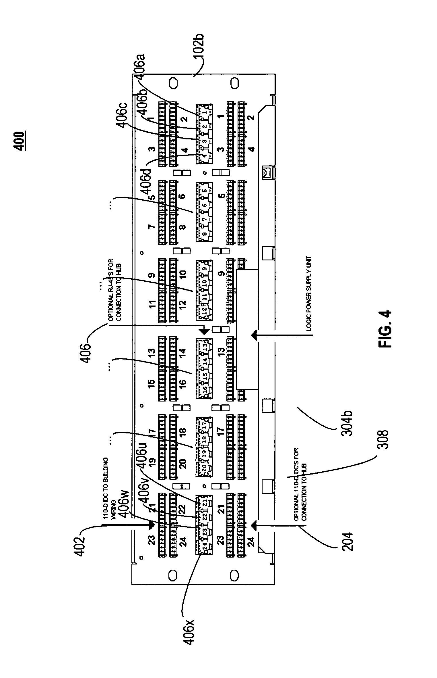 patent us8014518 patch panel apparatus and system including patent drawing