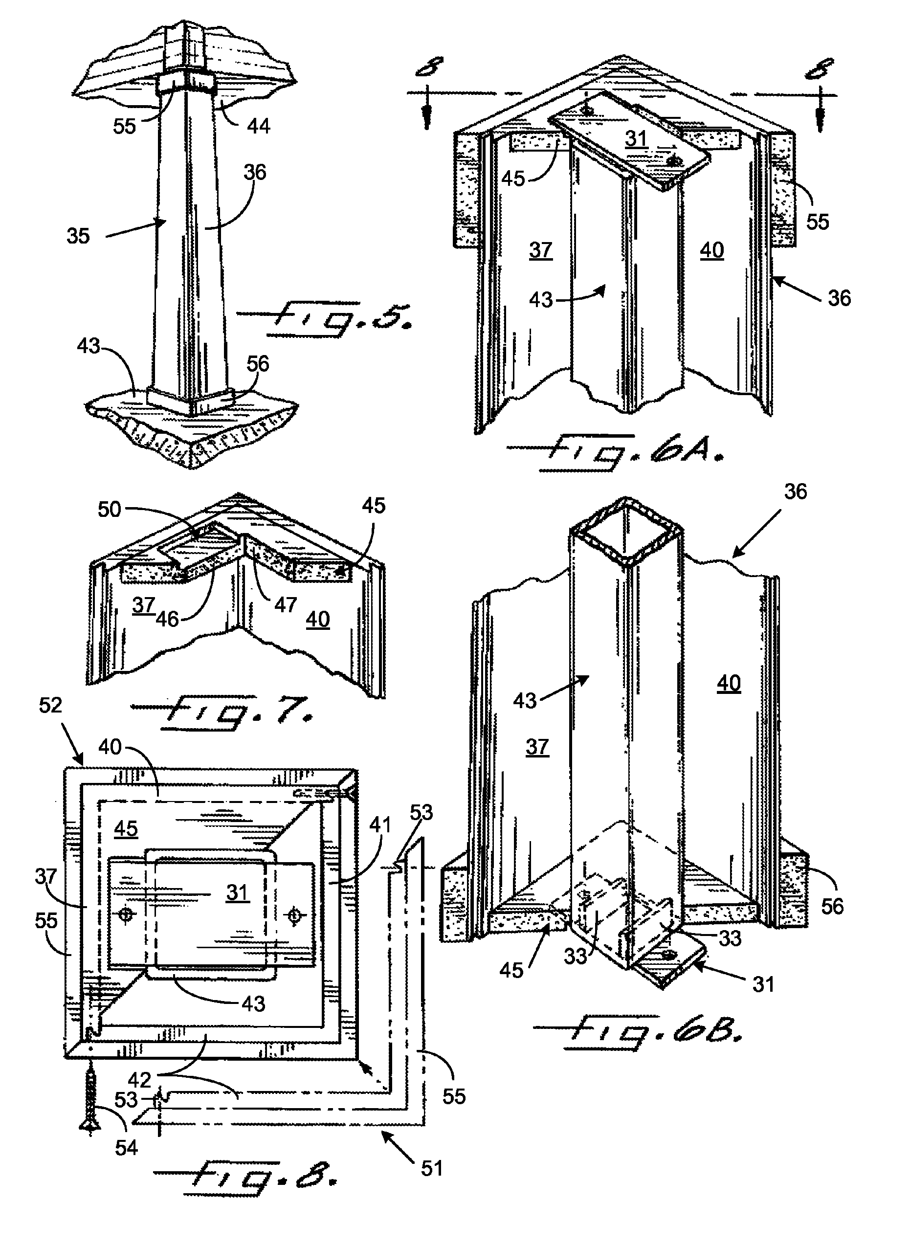 patent us8015775 light weight load bearing architectural column google patents. Black Bedroom Furniture Sets. Home Design Ideas