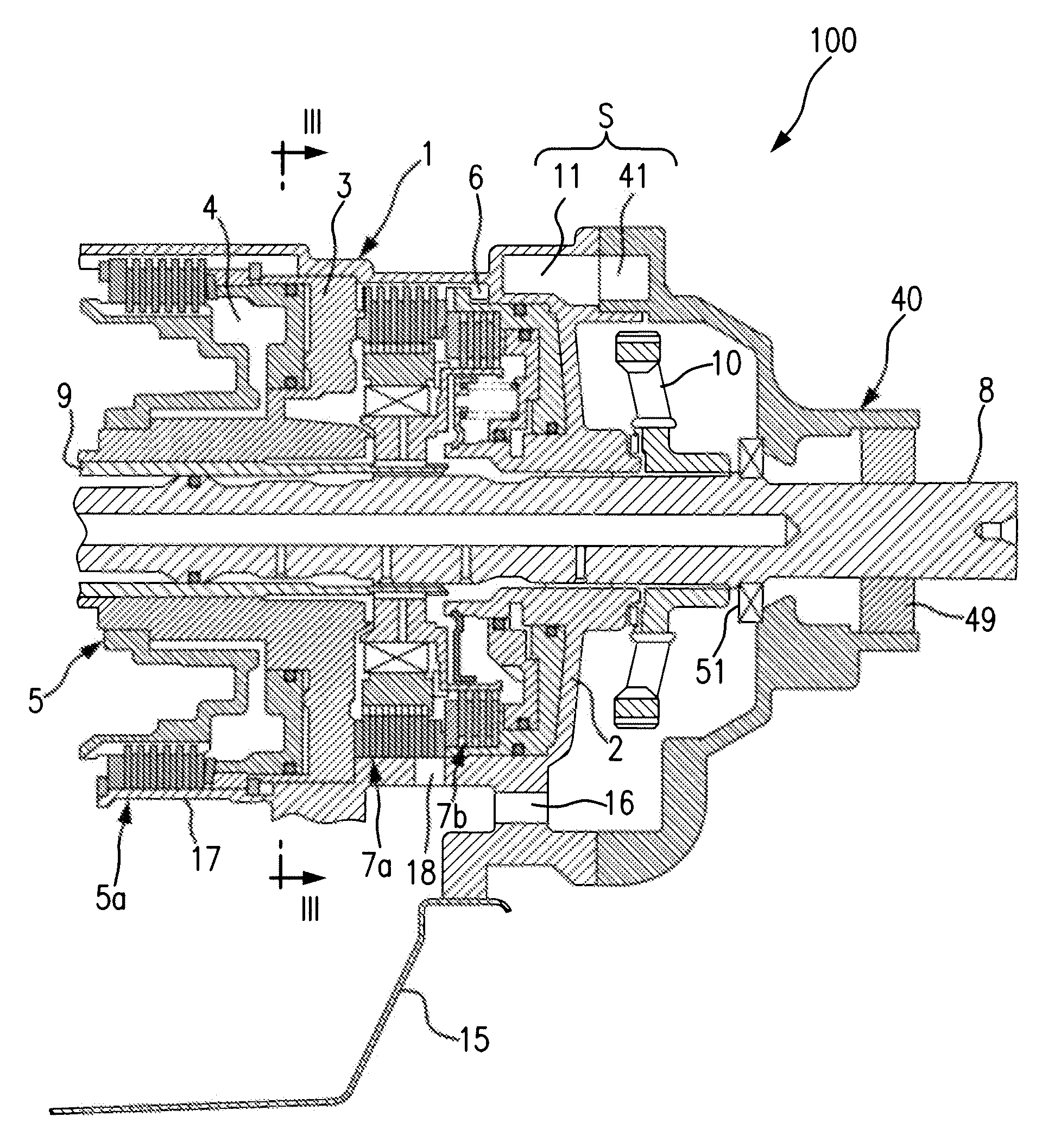 patent us8015898 - air breather structure for automatic transmission