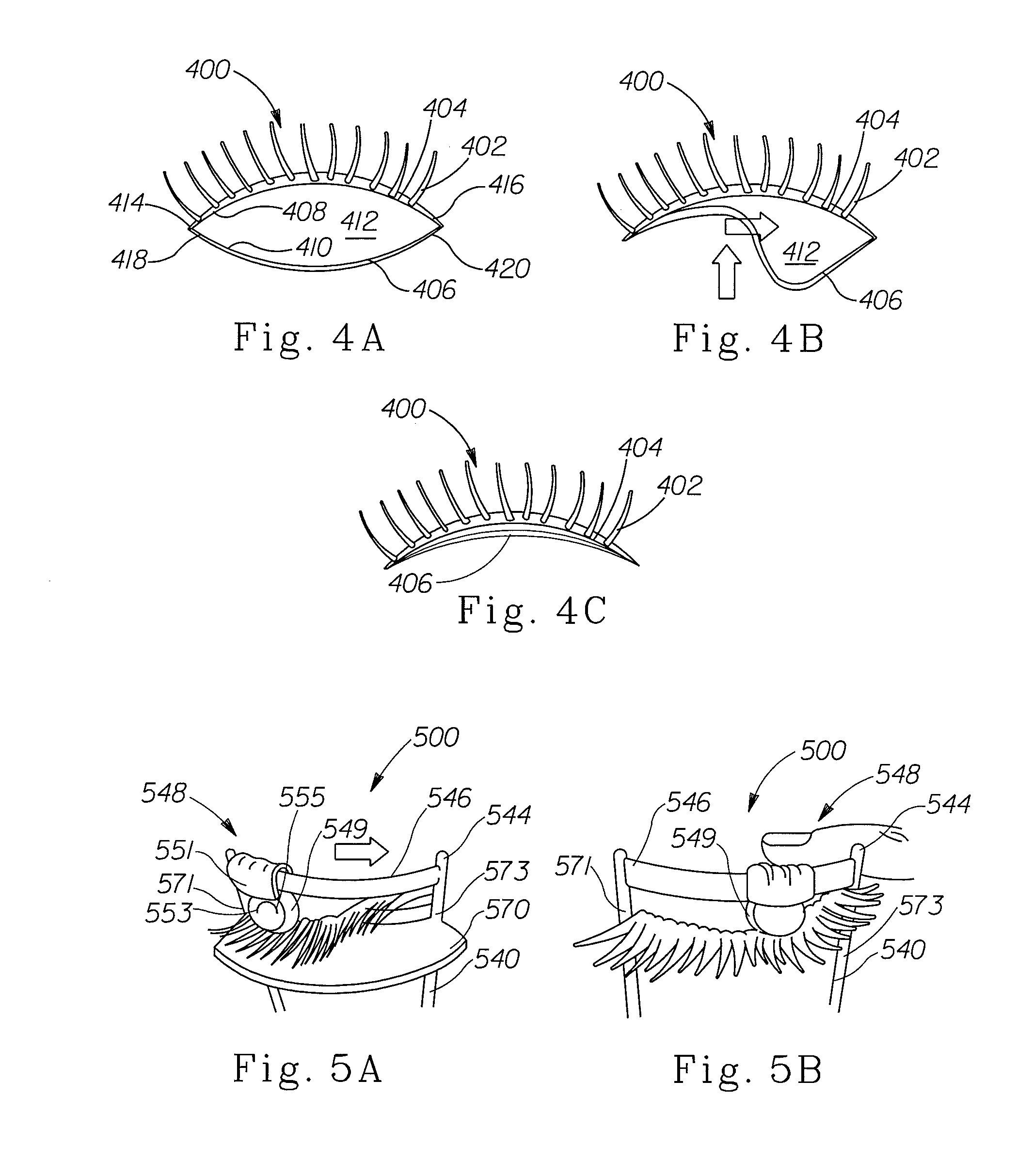 Patent US8015980 - Methods and apparatuses for applying eyelash ...