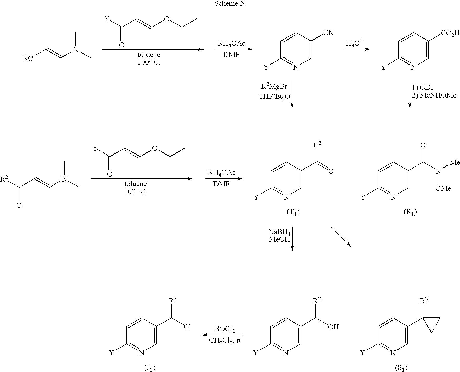 Patent Us8017788 Heteroaryl Substituted Alkyl N